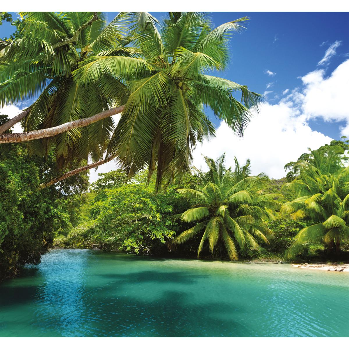 Фотообои 3D Flizart «Тропический остров» флизелиновые 300x280 см