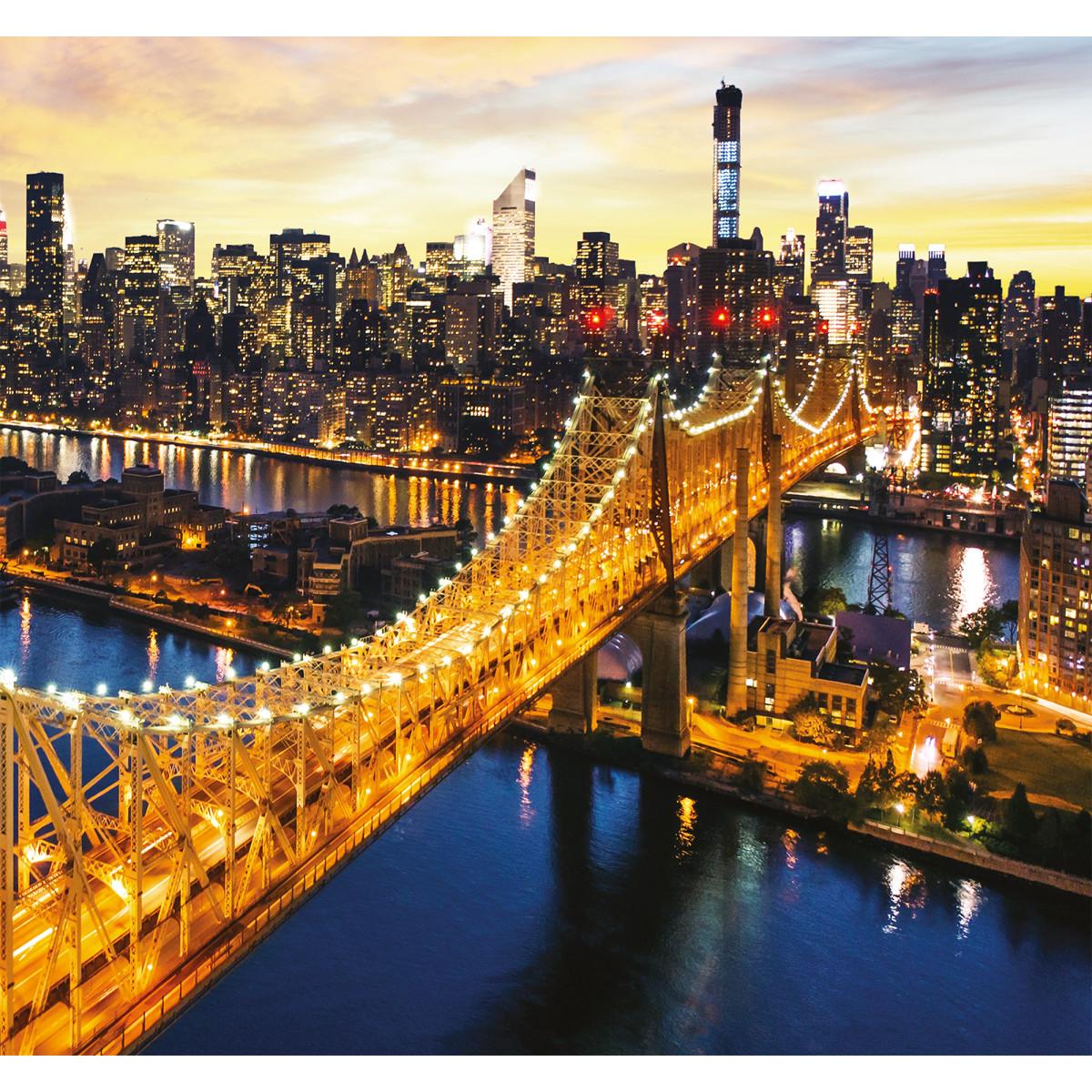 Фотообои 3D Flizart «Светящийся мост» флизелиновые 300x280 см