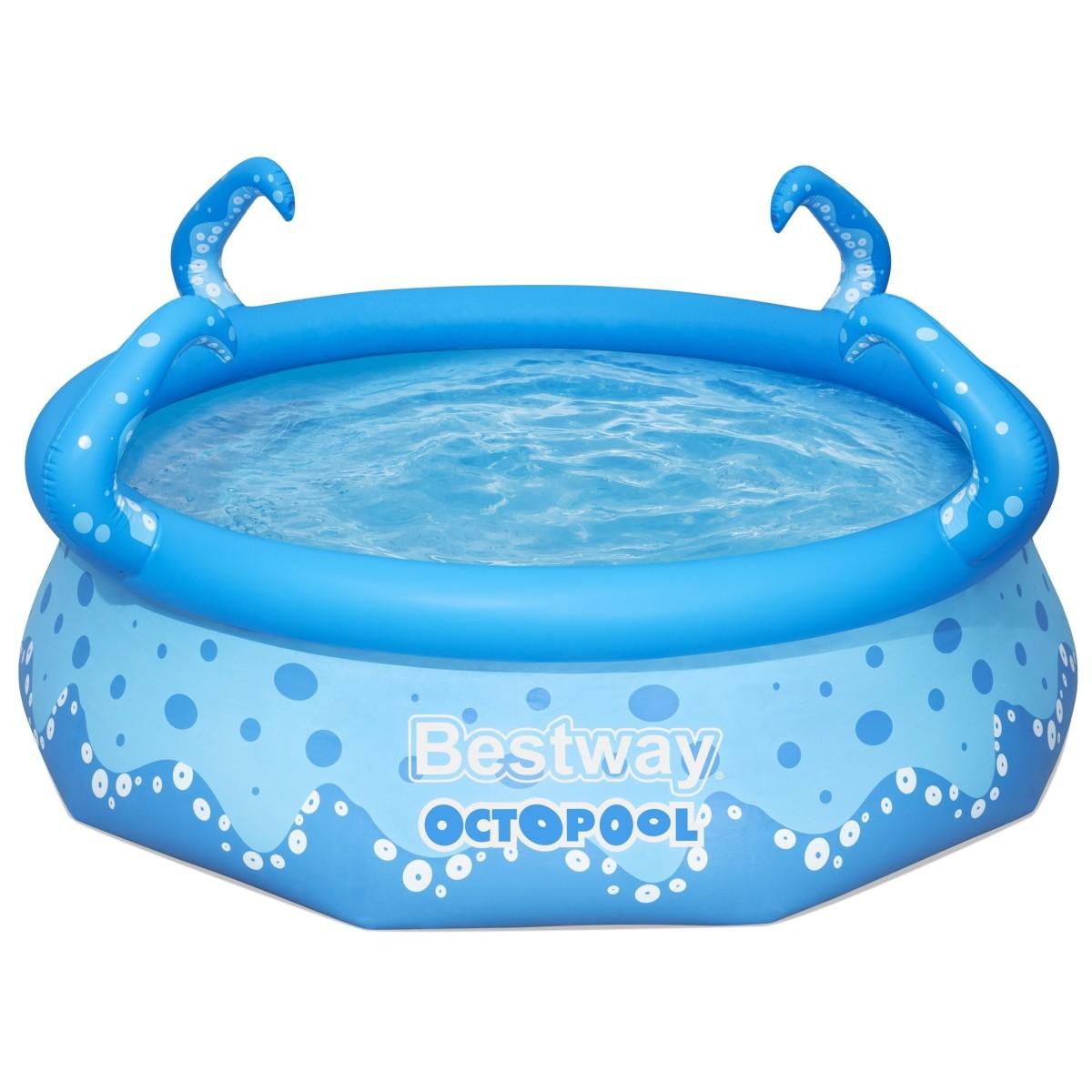 Бассейн надувной круглый детский Bestway Octopool 274x274x76 см 3153 л