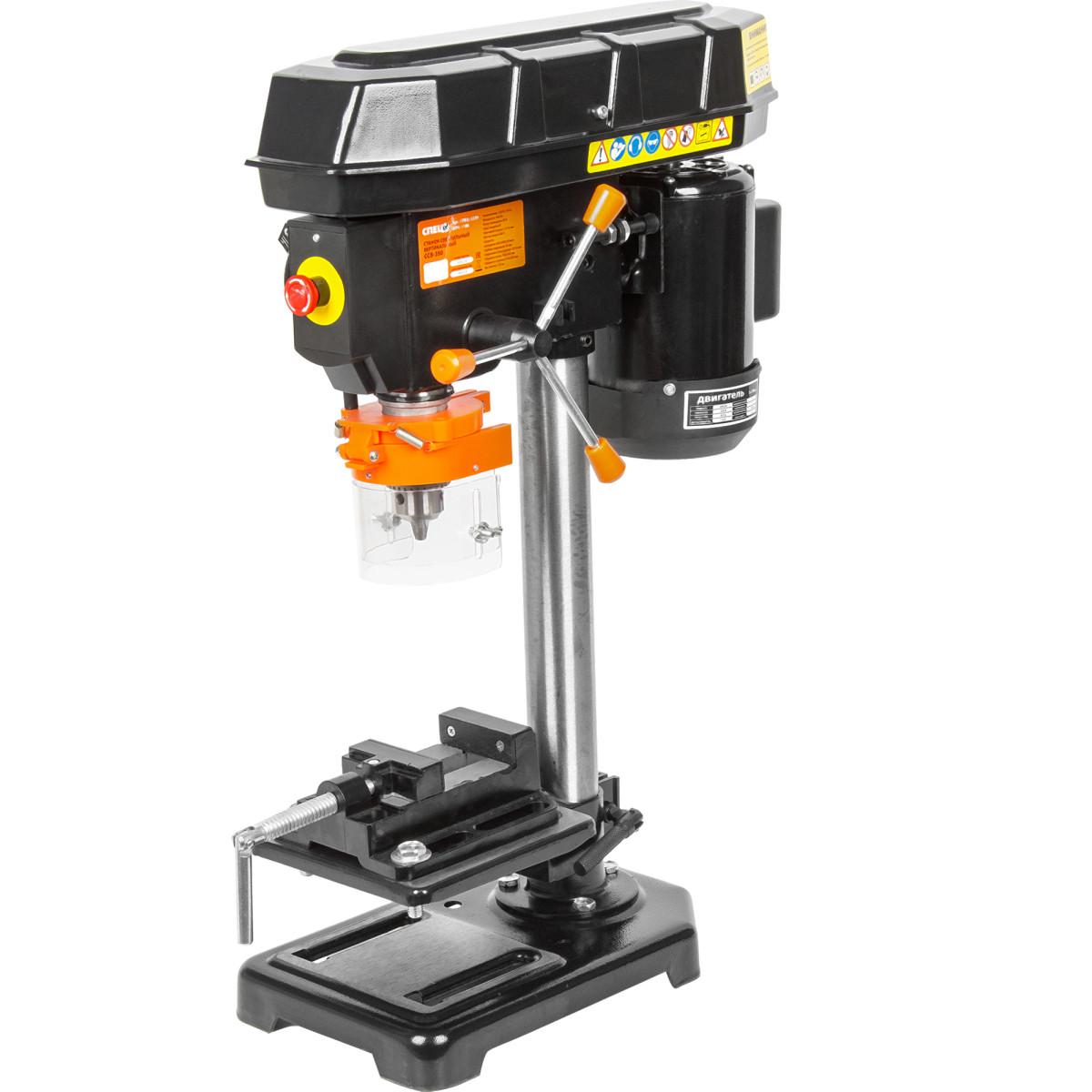 Станок сверлильный Спец ССВ-350 400 Вт 16 мм