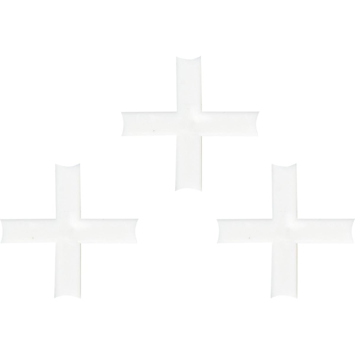 Крестики для кафельной плитки 3.5 мм 100 шт.
