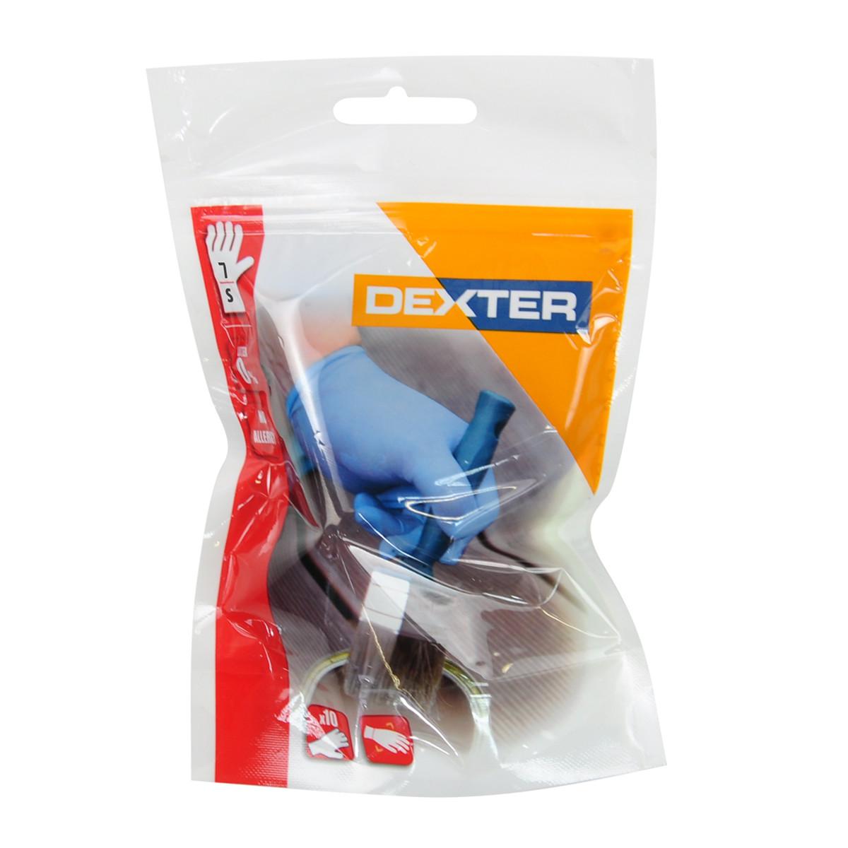 Перчатки нитриловые Dexter 10 шт. одноразовые