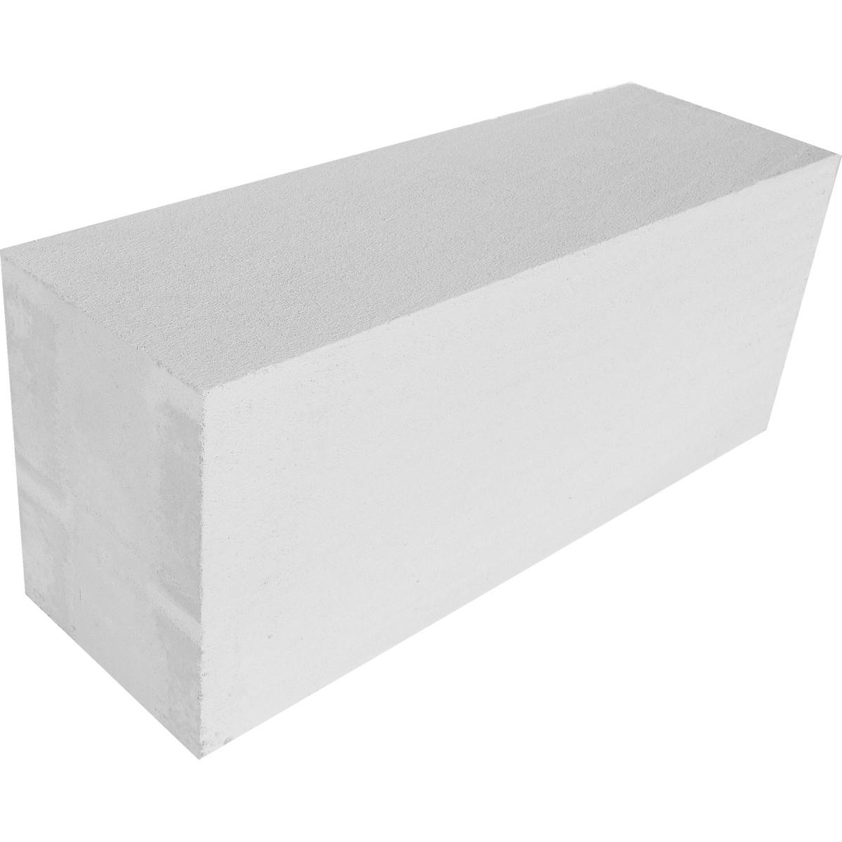 Блок газобетонный D500 625x250x200 мм