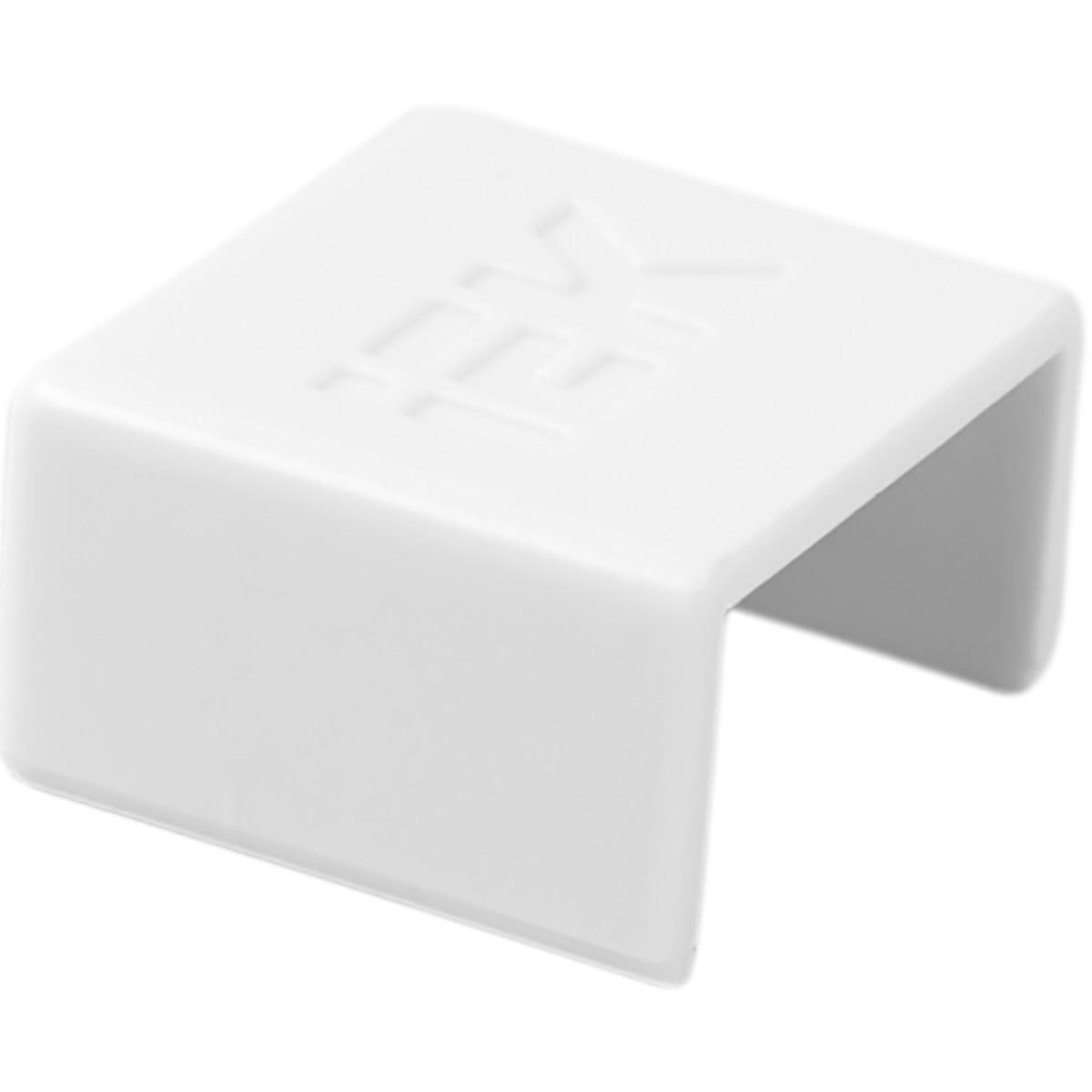 Заглушка IEK КМЗ 12/12 мм цвет белый 4 шт.