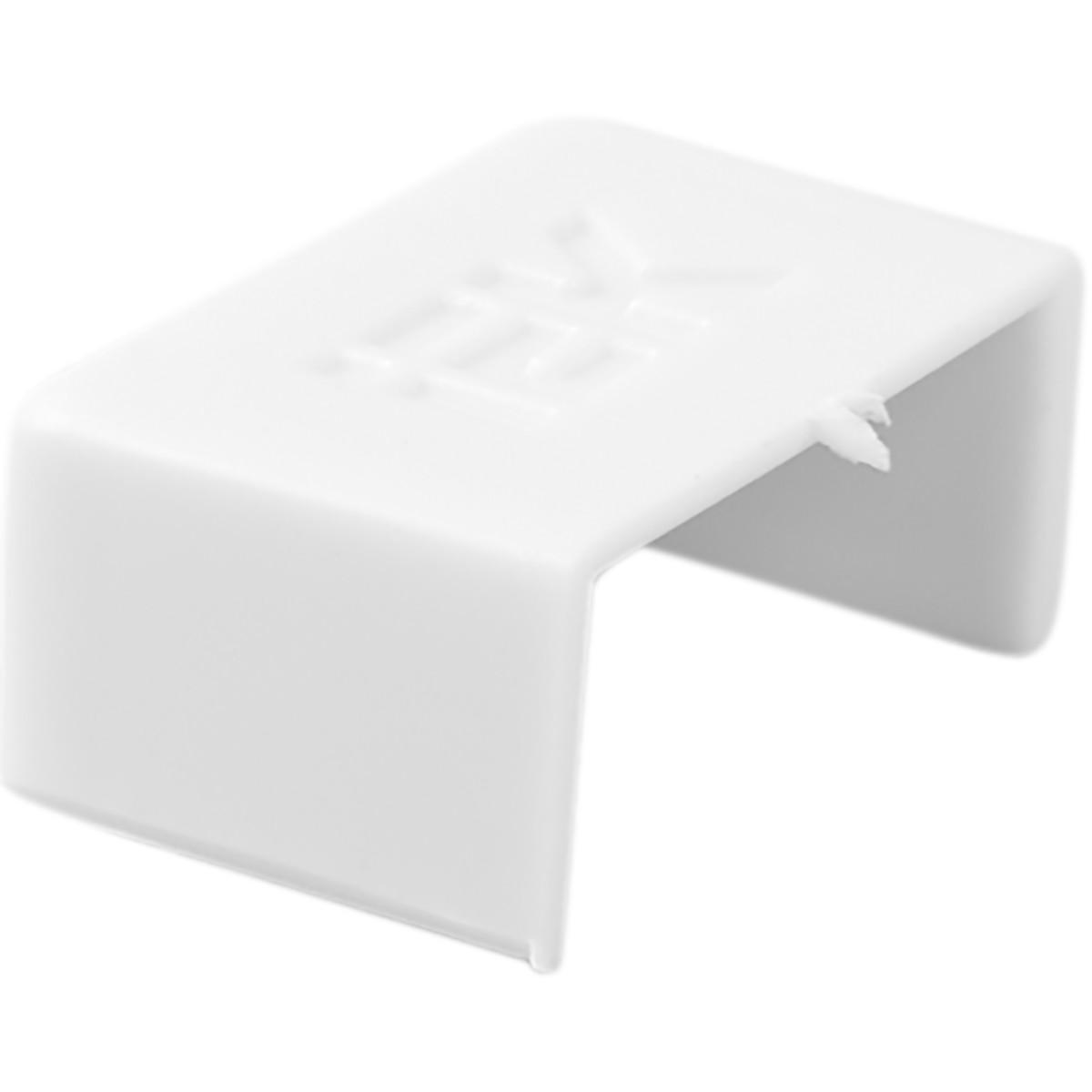 Заглушка IEK КМЗ 15/10 мм цвет белый 4 шт.