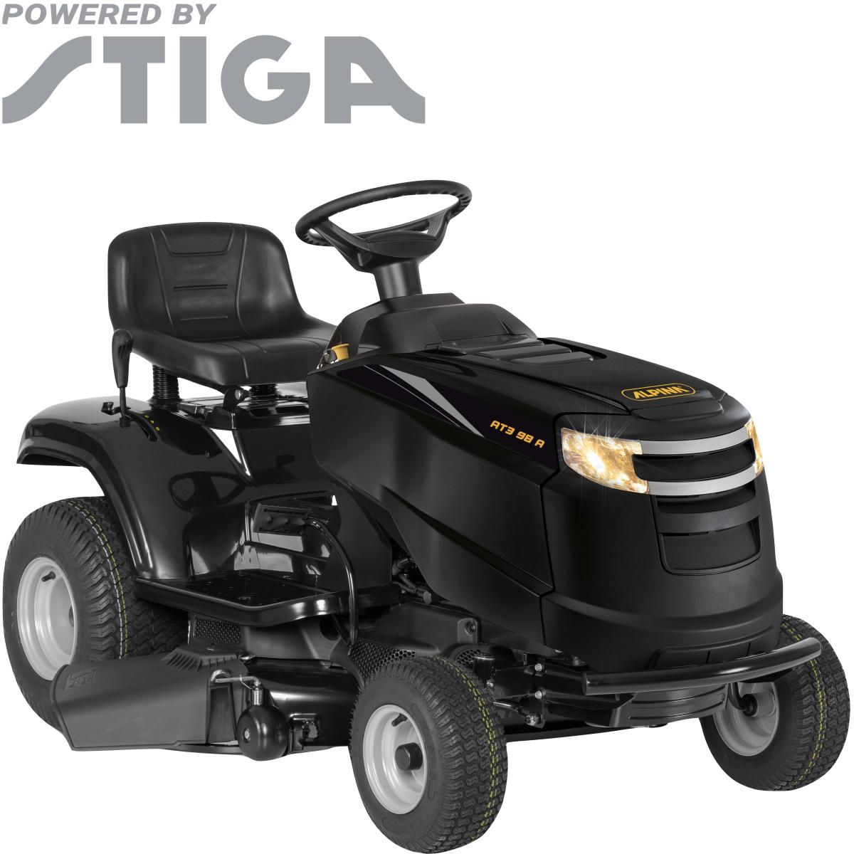 Трактор садовый Alpina AT 3 98 А 8.8 л/с  98 см