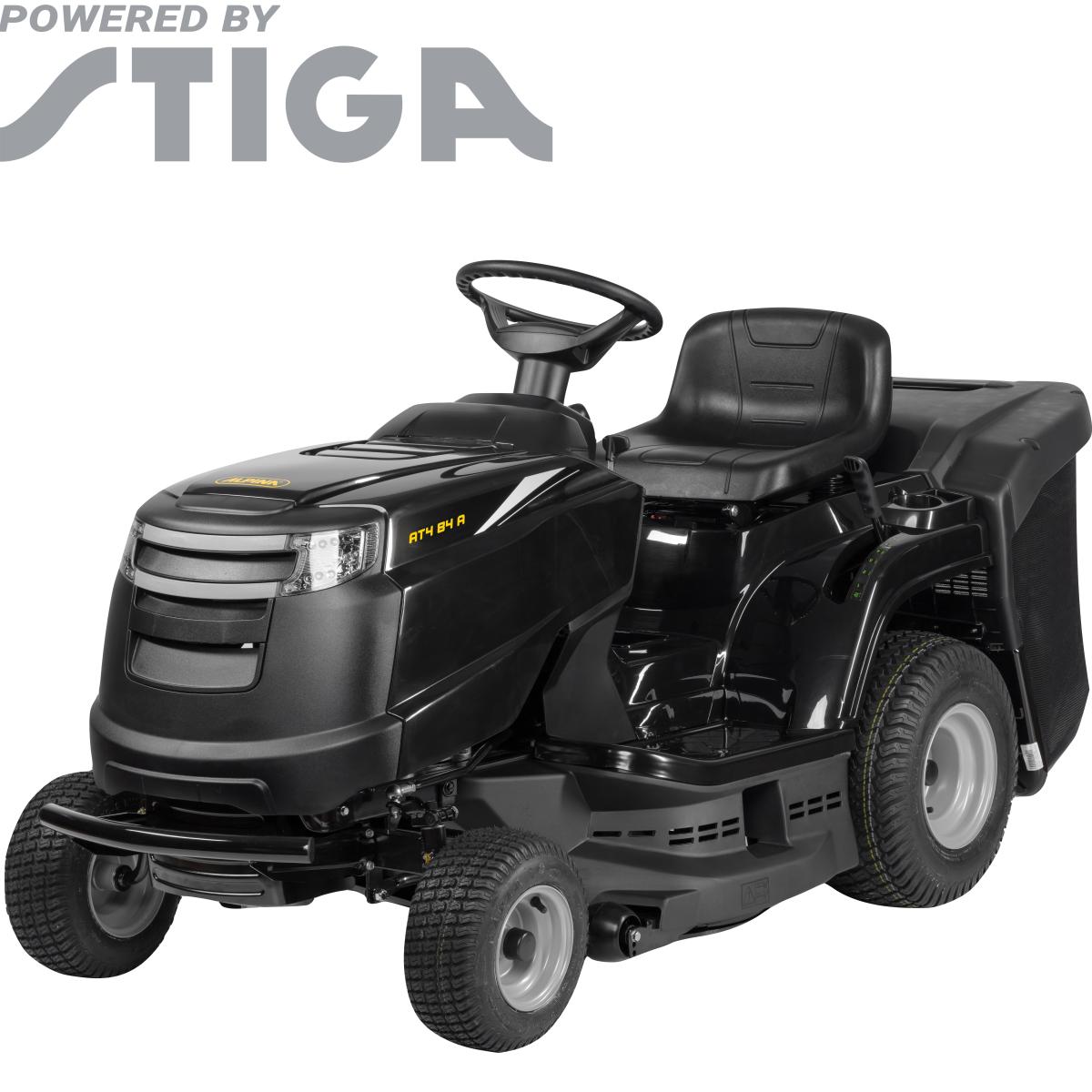 Трактор садовый Alpina AT 4 84 A 7.9 л/с 84 см