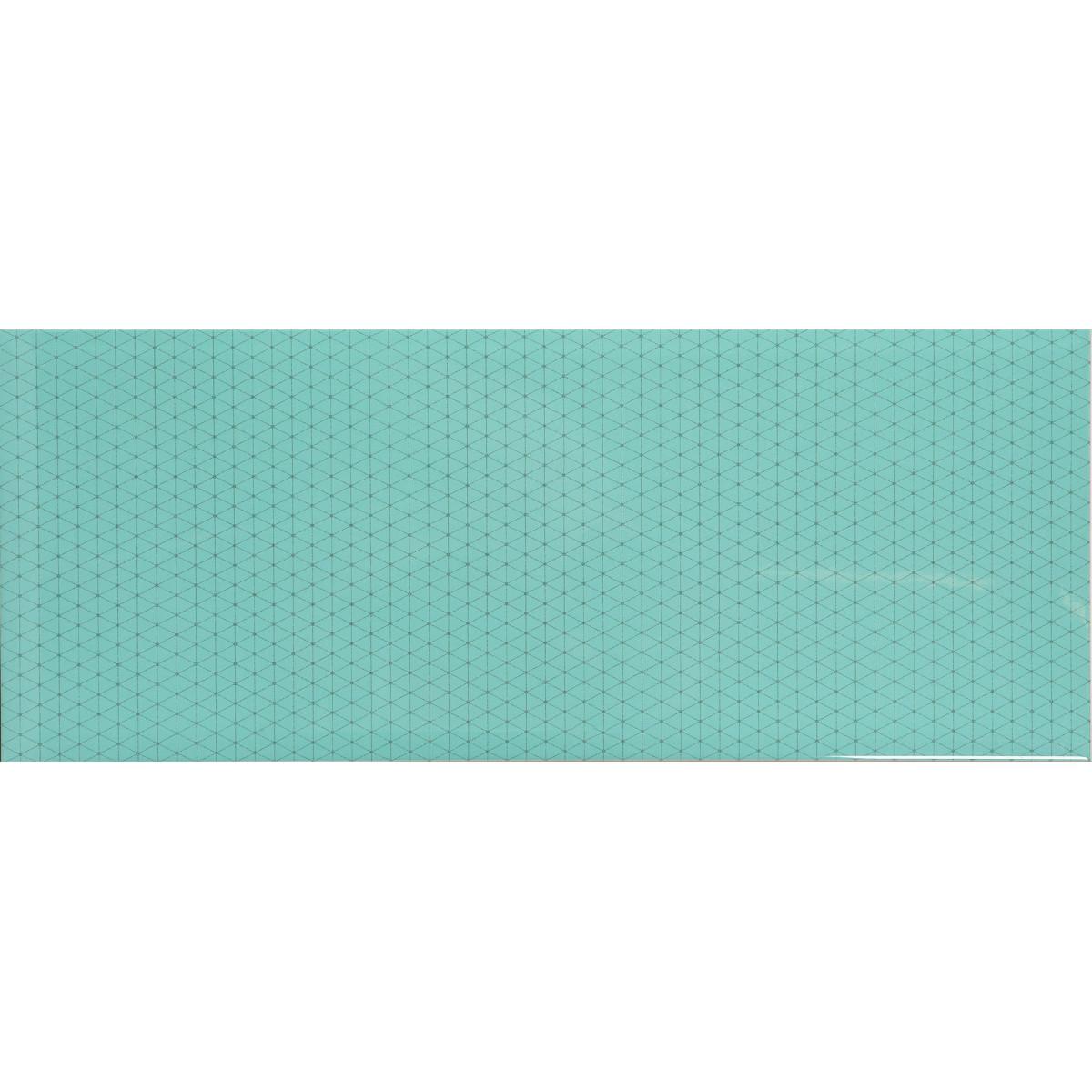 Плитка настенная Концепт 2Т 50x20 см 1.4 м² цвет зеленый