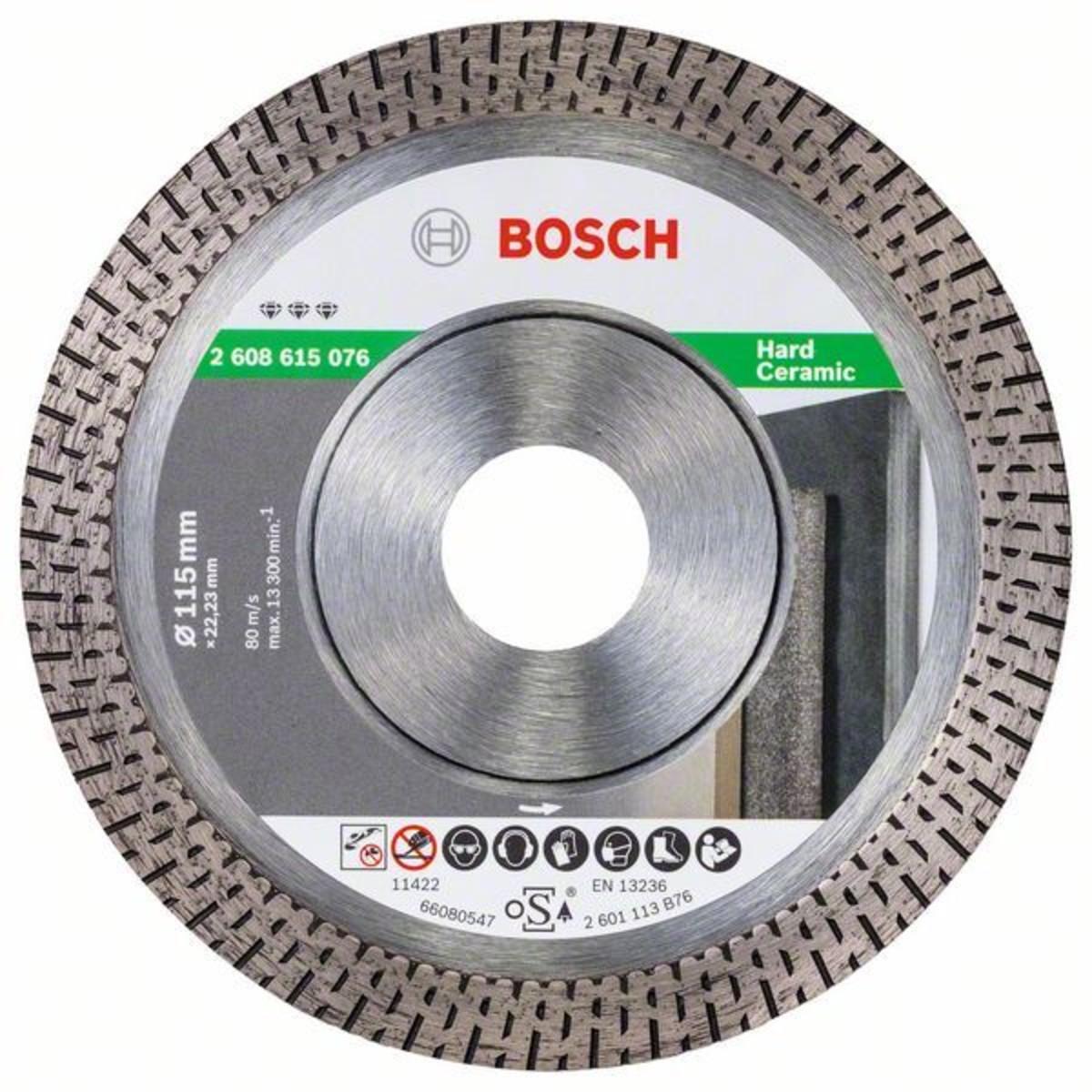 Диск Алмазный По Керамике Bosch Best For Hard Ceramic 115x2223