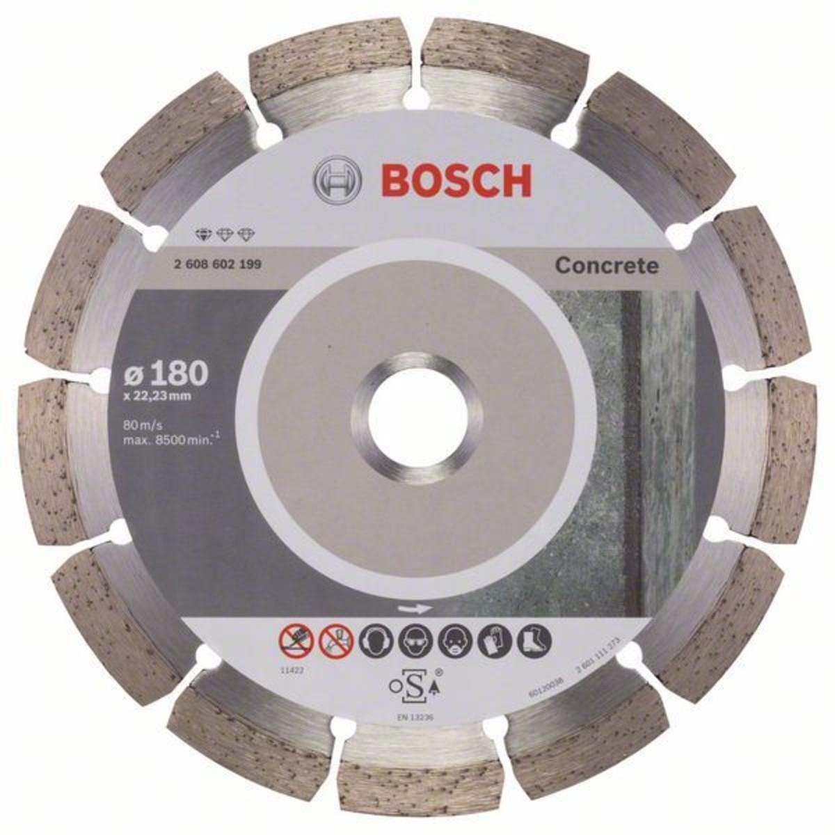 Диск Алмазный По Бетону Bosch Standart 180x2223
