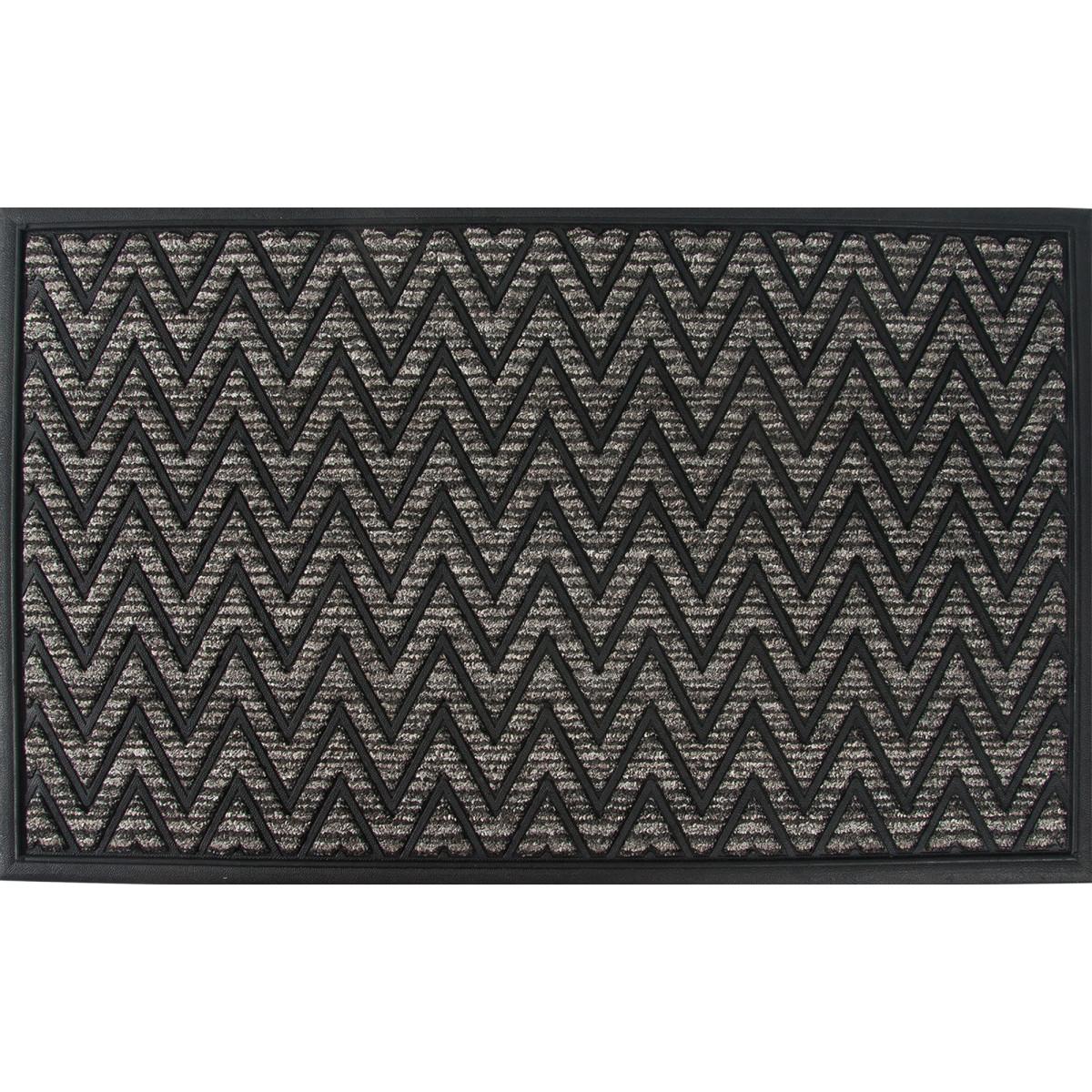 Коврик Porto 1050 45x75 см резина цвет серый
