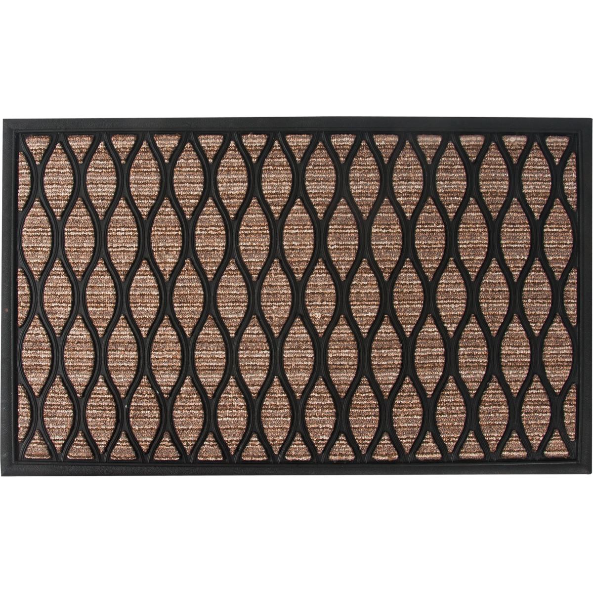 Коврик Porto 1049 45x75 см резина цвет коричневый