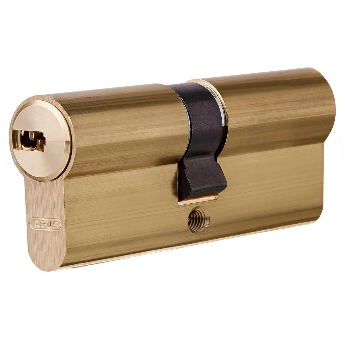 Цилиндр Abus 30х30 мм ключ/ключ цвет золото
