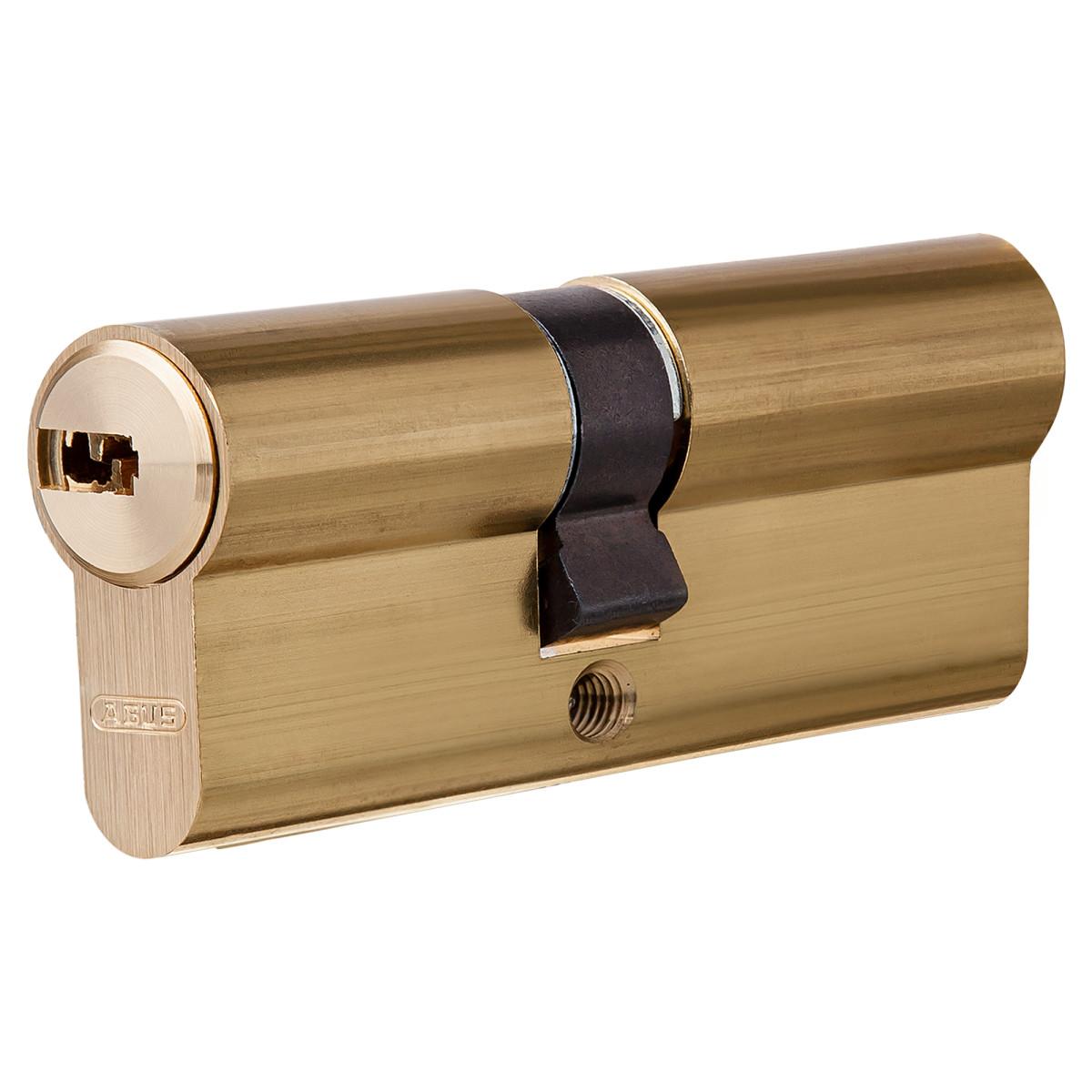 Цилиндр Abus 30х40 мм ключ/ключ цвет золото