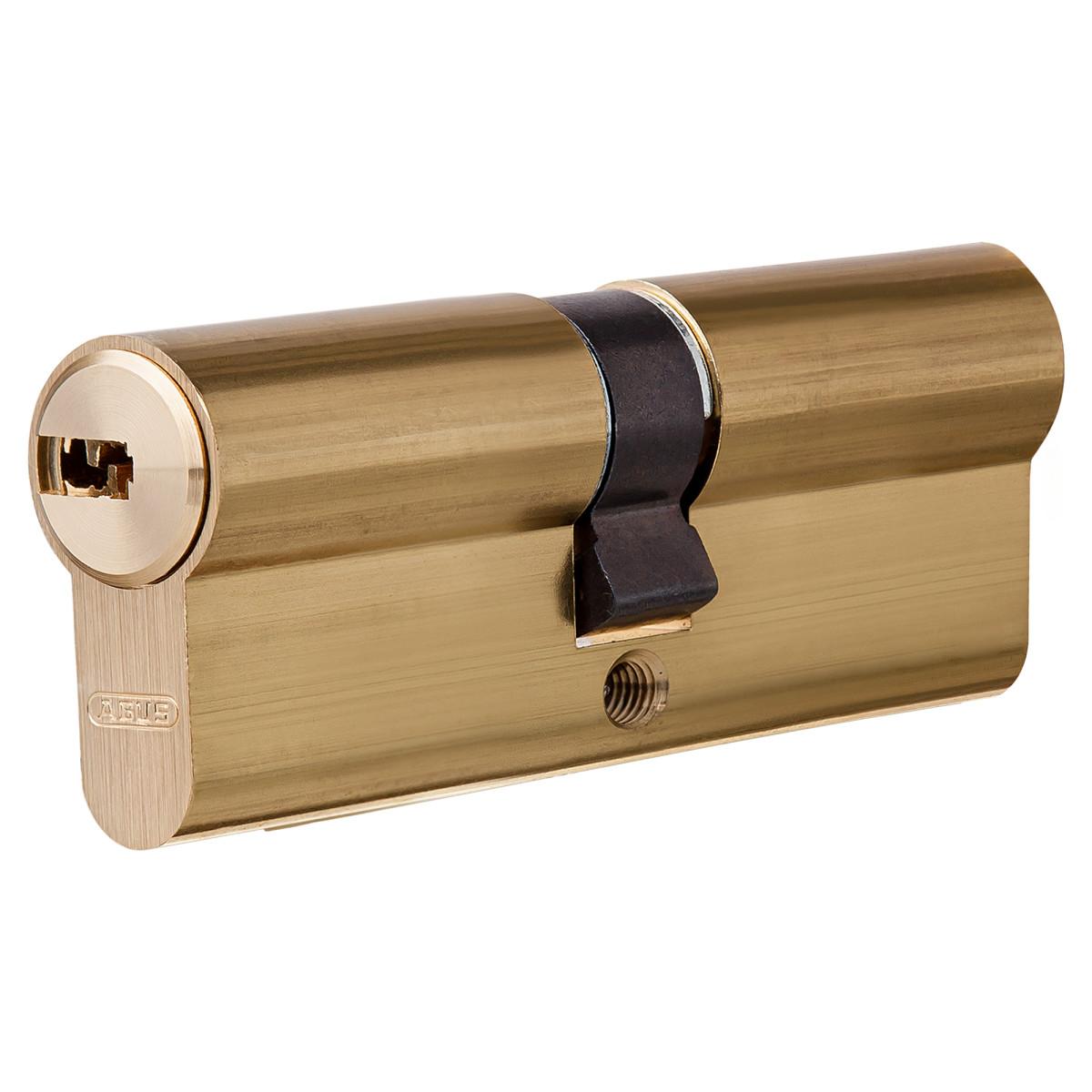 Цилиндр Abus 35х35 мм ключ/ключ цвет золото