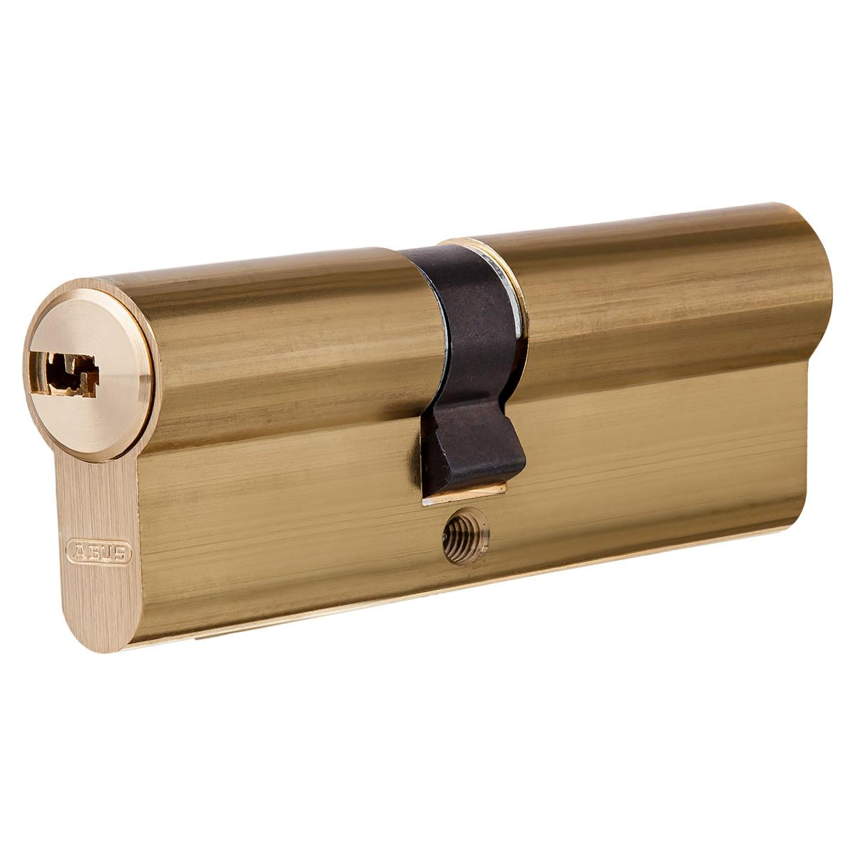 Цилиндр Abus 35х45 мм ключ/ключ цвет золото