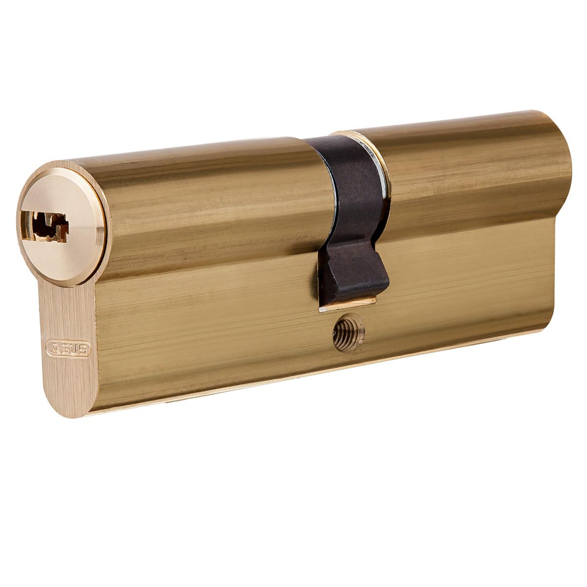 Цилиндр Abus 40х40 мм ключ/ключ цвет золото