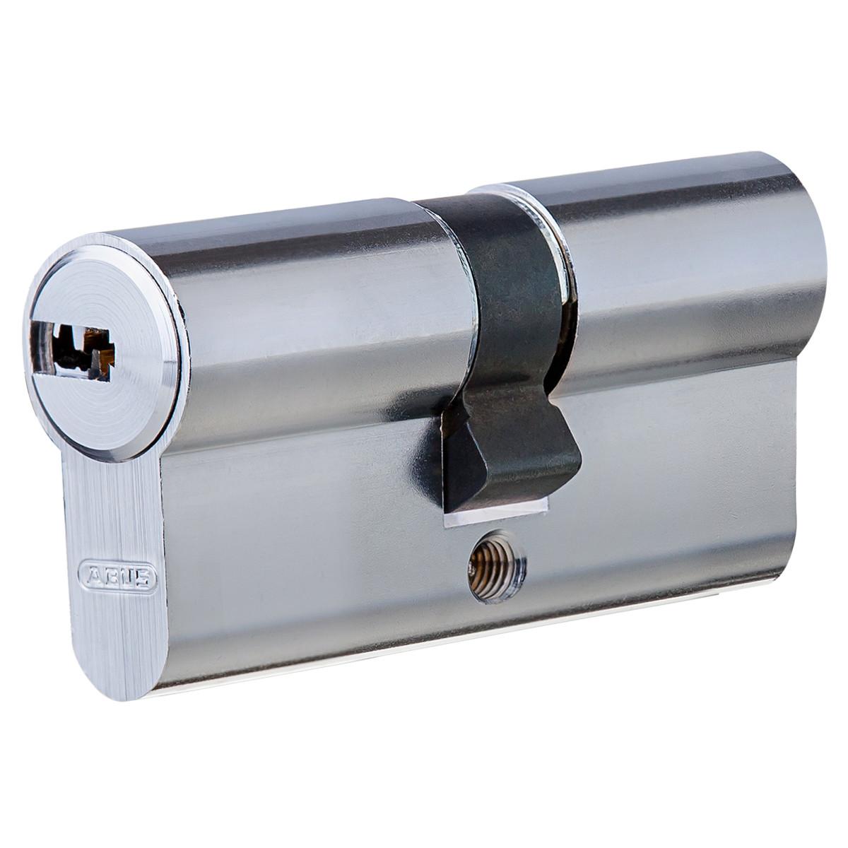 Цилиндр Abus 30х30 мм ключ/ключ цвет никель