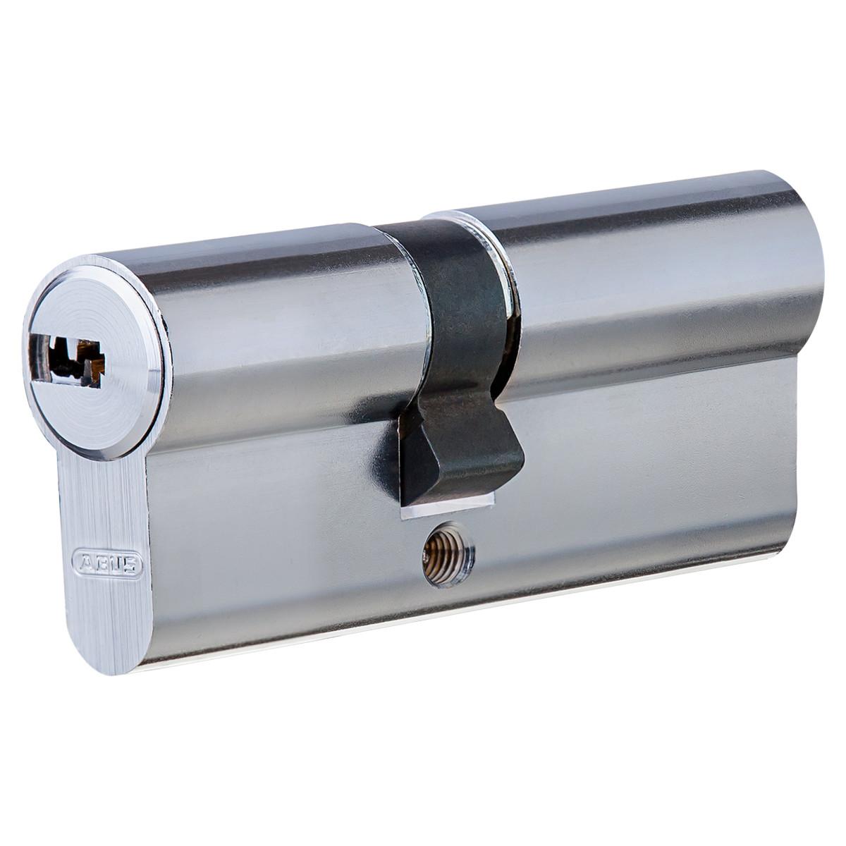Цилиндр Abus 30х40 мм ключ/ключ цвет никель