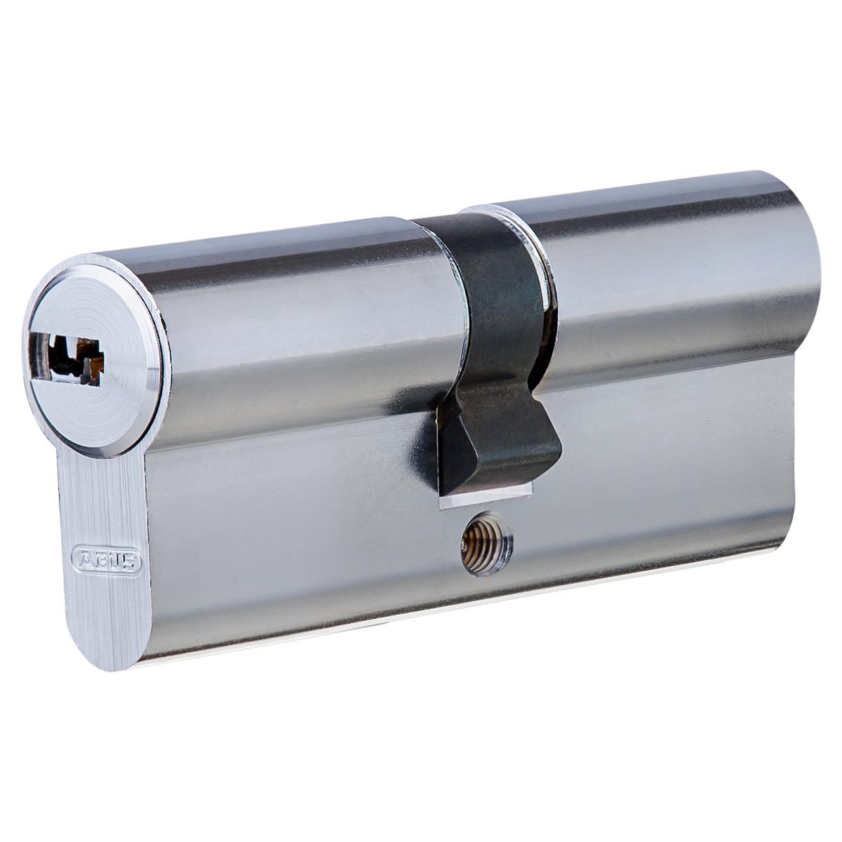 Цилиндр Abus 35х35 мм ключ/ключ цвет никель