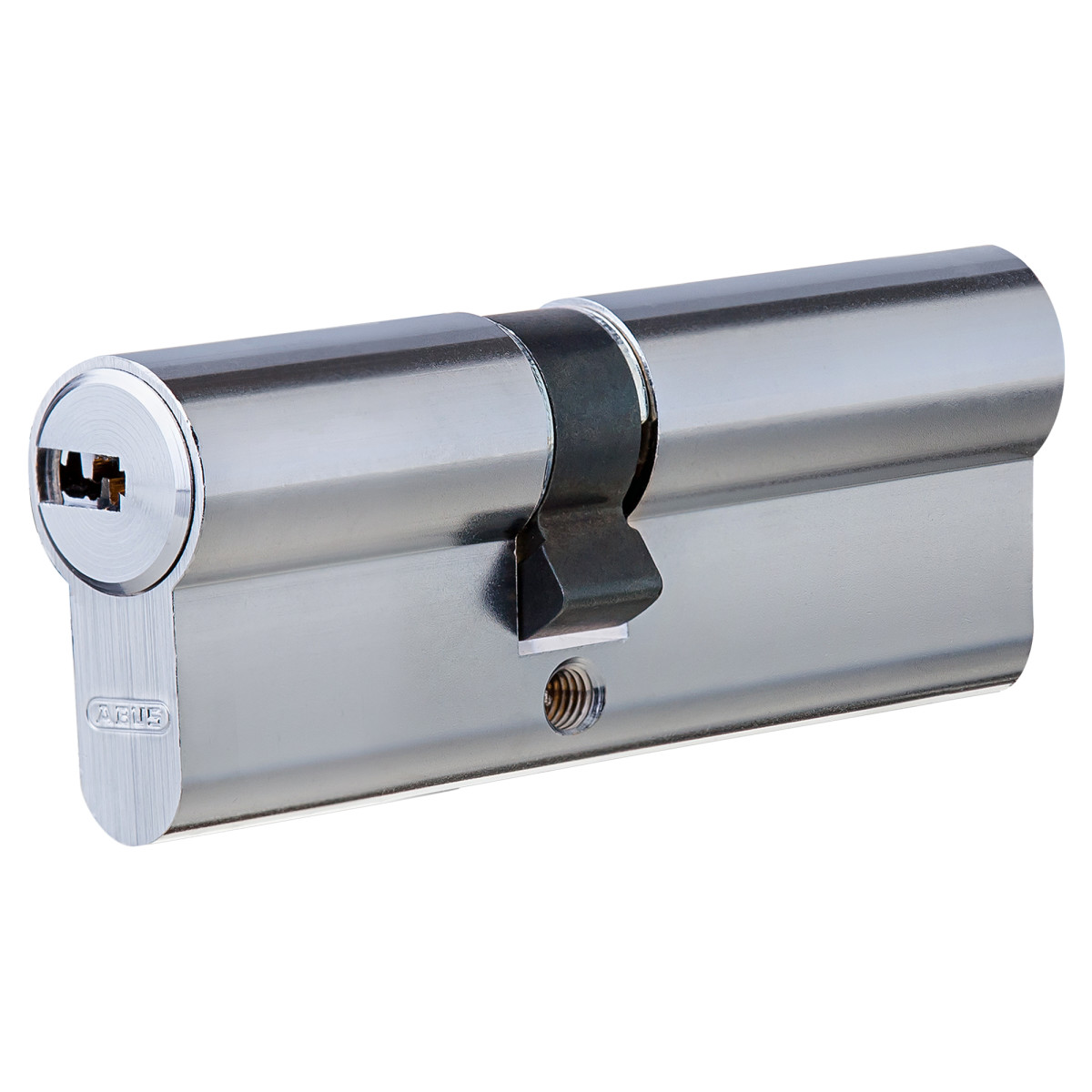 Цилиндр Abus 35х45 мм ключ/ключ цвет никель