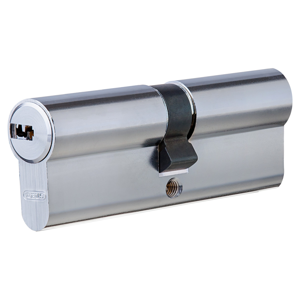 Цилиндр Abus 40х40 мм ключ/ключ цвет никель