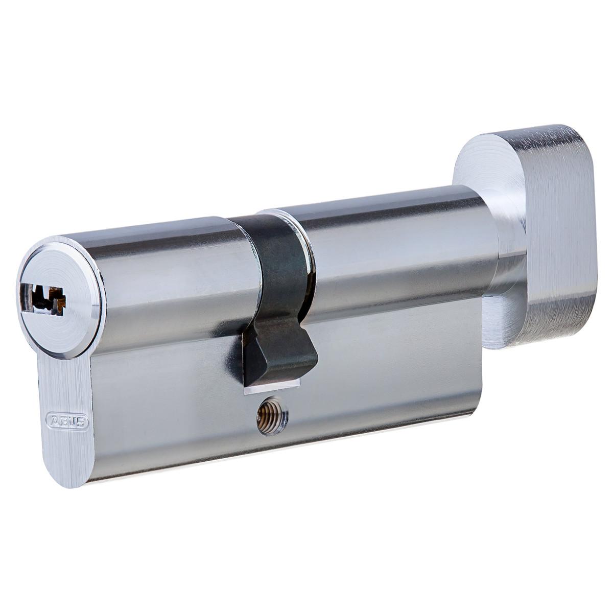 Цилиндр Abus 30х40 мм ключ/вертушка цвет никель