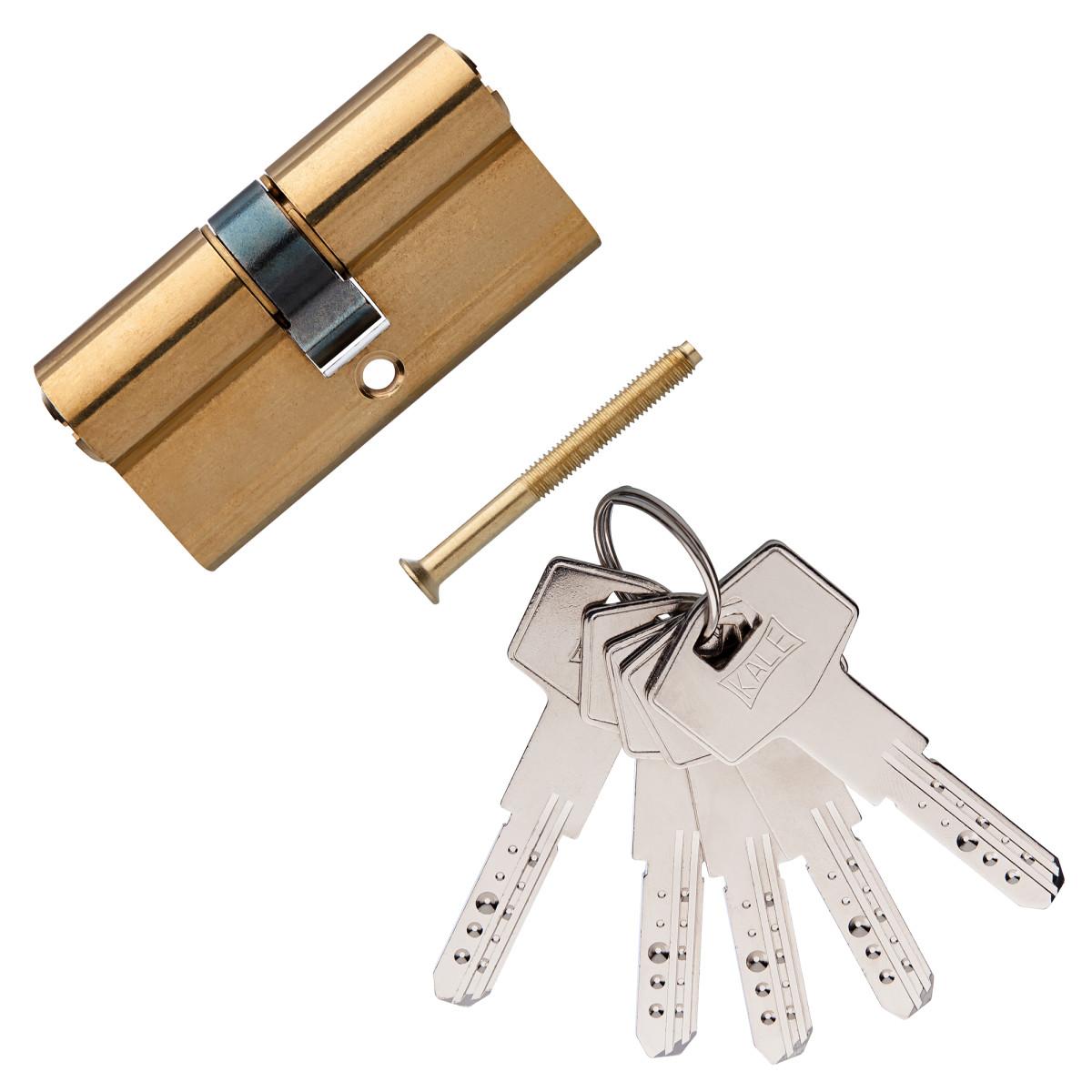 Цилиндр Kale 164bn-62-Bp Ключ/Ключ Цвет Золото