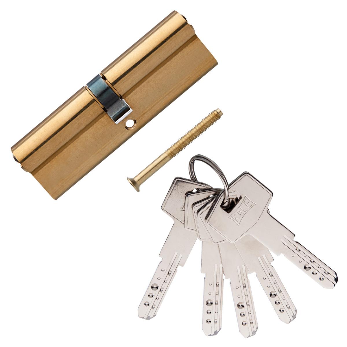 Цилиндр Kale 164bn-100-Bp 45Х45 Ключ/Ключ Цвет Золото