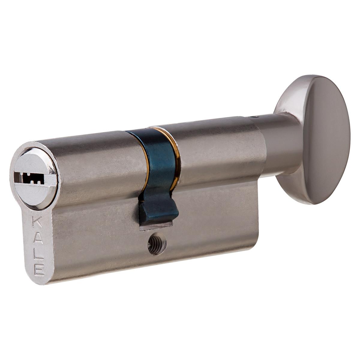 Цилиндр Kale 164BM-72-C-NP 30х32 мм ключ/вертушка цвет никель