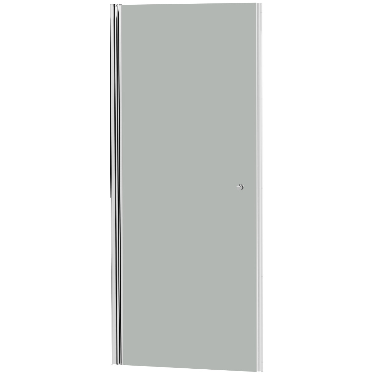 Душевая дверь «Комфорт» распашная матовая 195х90 см
