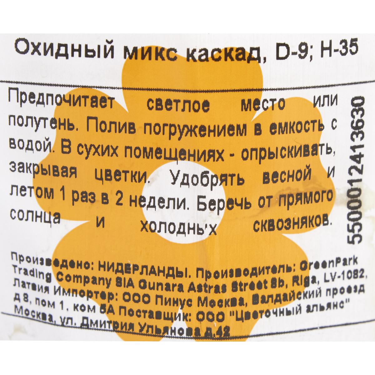 Орxидный Каскад Микс 9x35