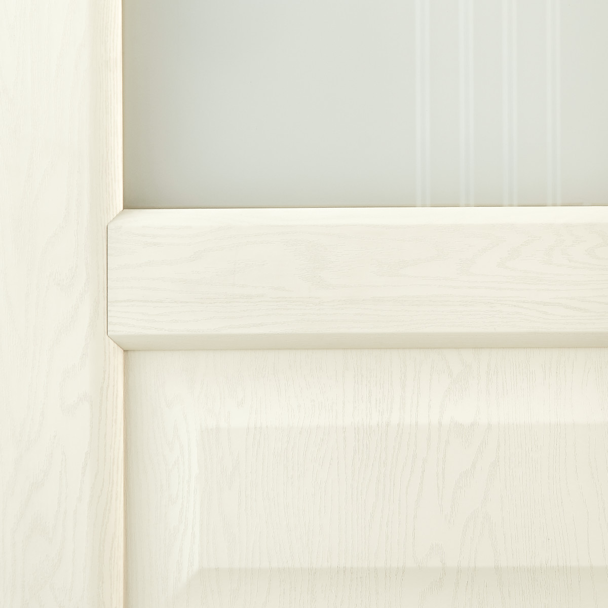 Дверь Межкомнатная Остеклённая Artens Мария 70x200 Пвх Цвет Айвори С Фурнитурой