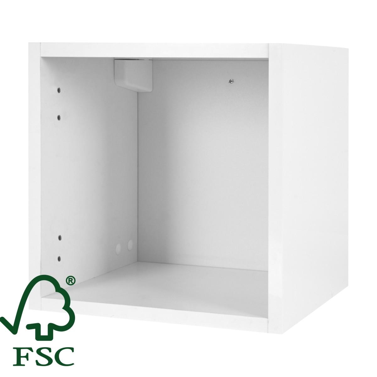 Каркас шкафа подвесного Смарт 30x30х15 см цвет белый