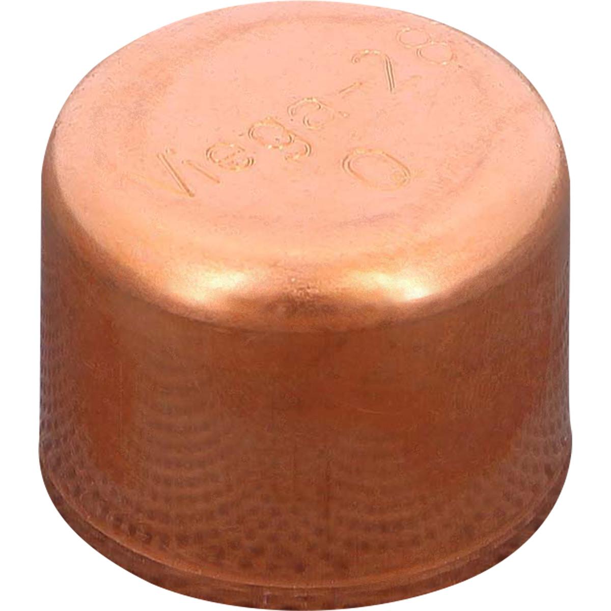 Заглушка пайка Viega 28 мм медь