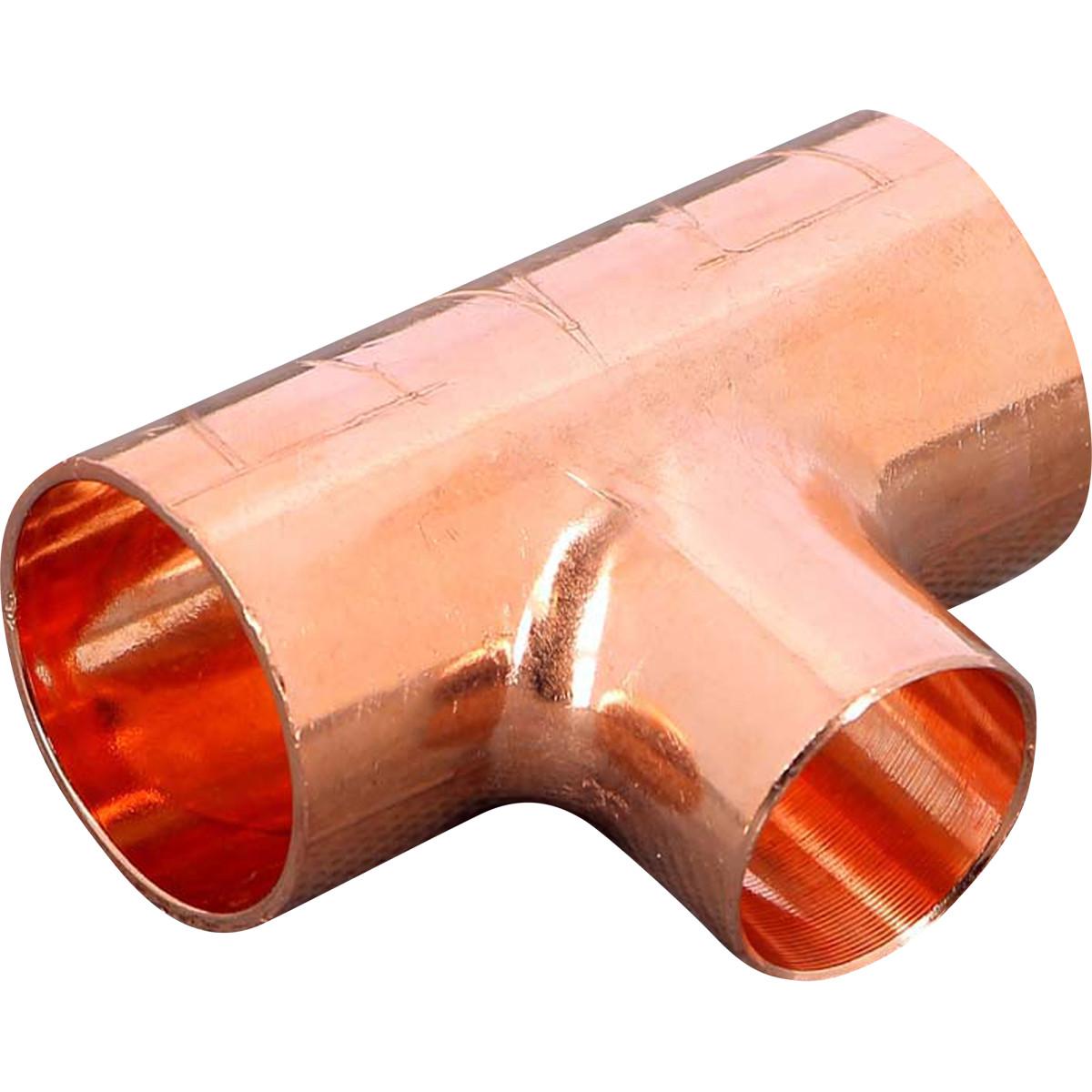 Тройник пайка Viega 28x22x28 мм медь