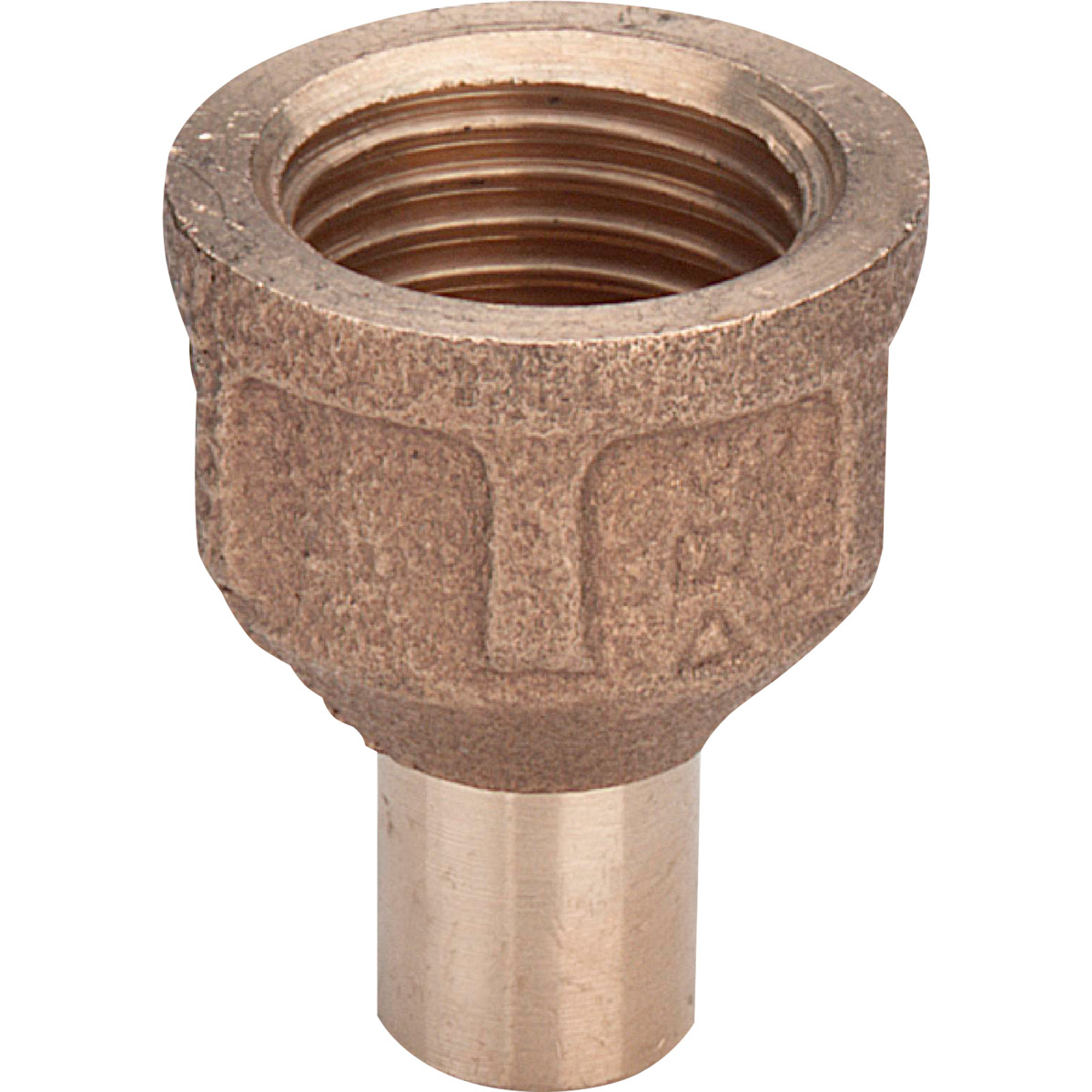 Муфта-вставка пайка Viega внутренняя резьба 28 ммx3/4 медь