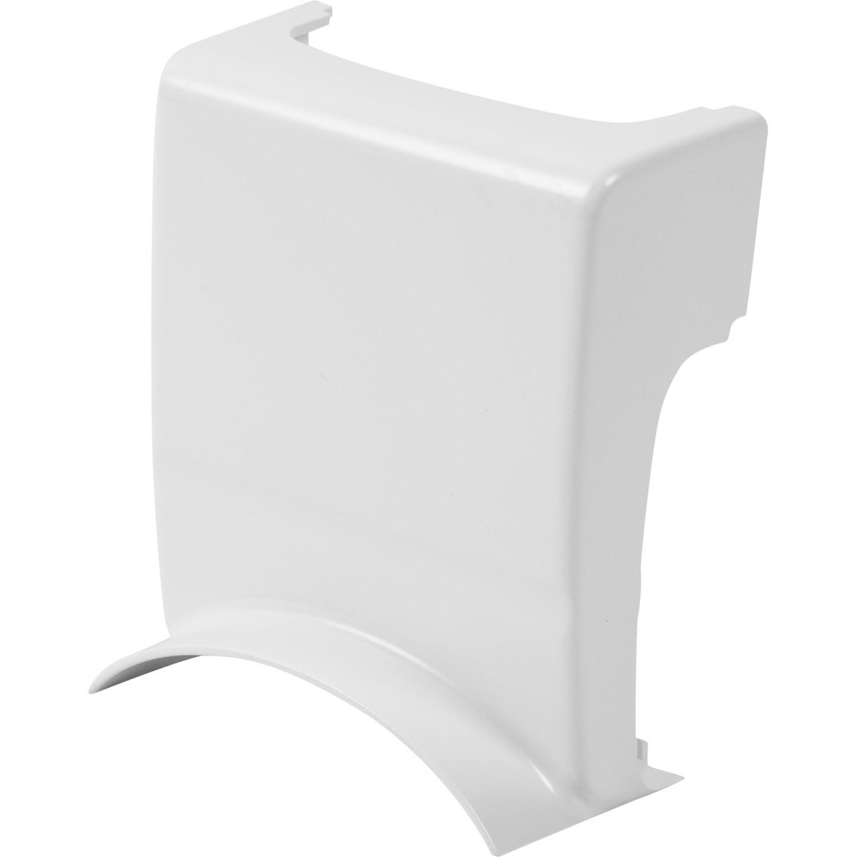 Адаптер для напольного кабель-канала 80x20 мм цвет белый