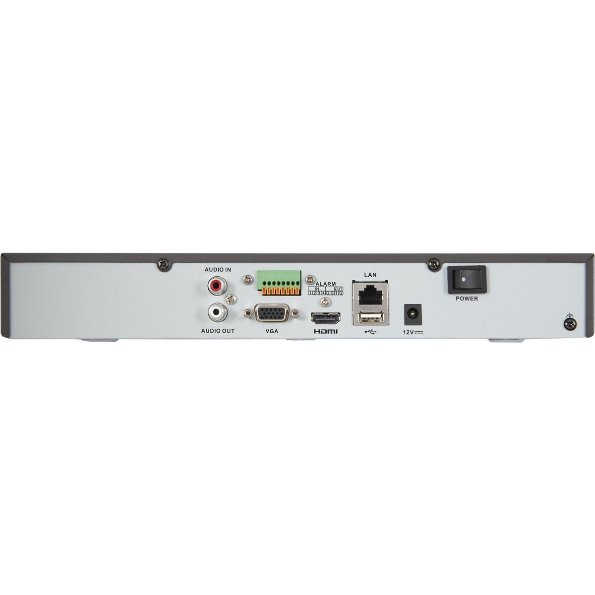 Комплект Регистратор Для Видеонаблюдения Hiwatch Ds-N304(B)