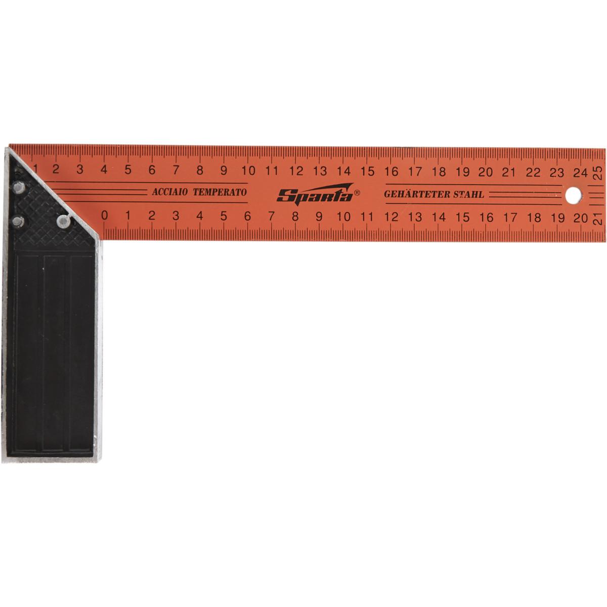 Угольник Sparta металлический 250 мм