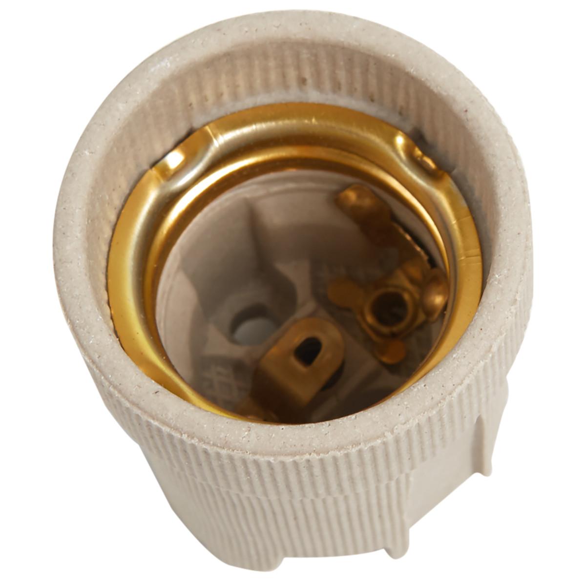 Патрон керамический Oxion E27