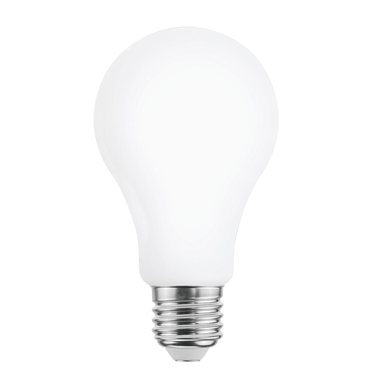 Лампа светодиодная филаментная Lexman E27 220 В 16 Вт сфера матовая 2452 лм тёплый белый свет