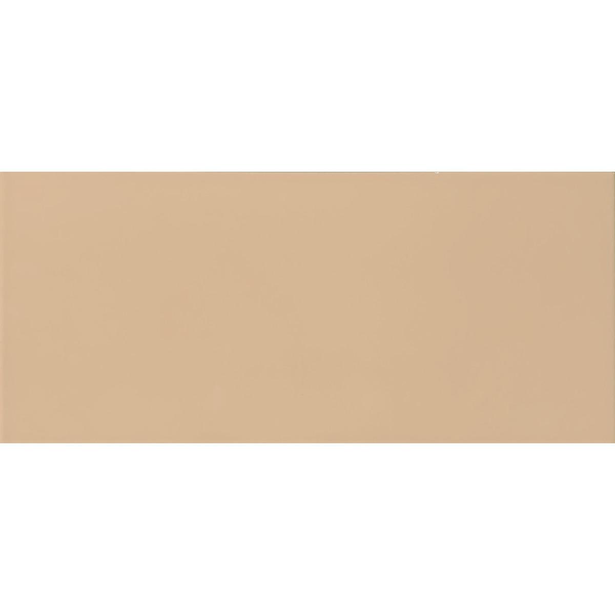 Плитка настенная Аккорд 20x45 см 1.08 м² цвет кремовый