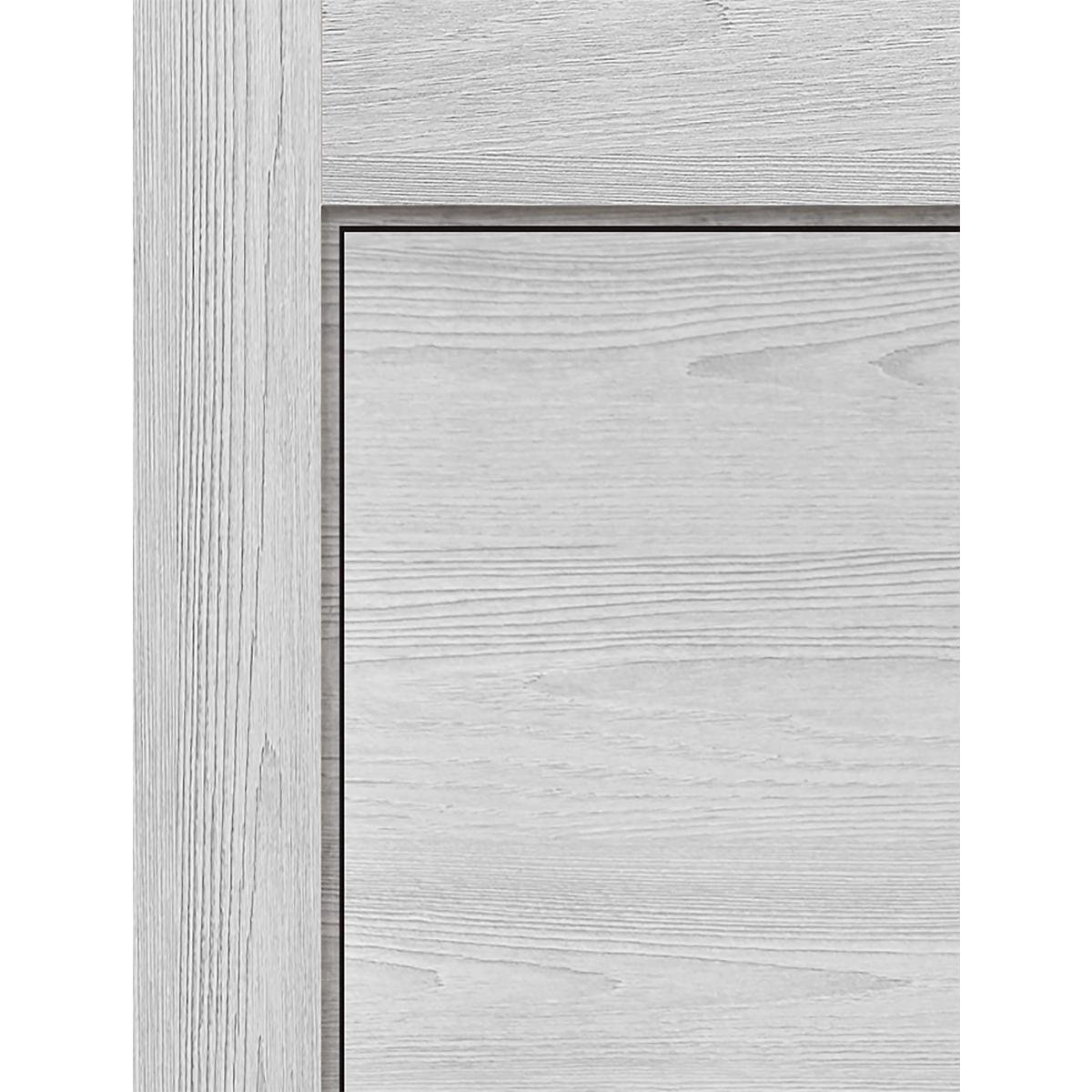 Дверь Межкомнатная Глухая 90x200 Ламинация Цвет Ясень Серый