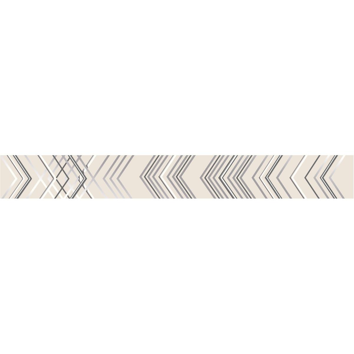 Бордюр настенный Azori «Festa» 50.6x6.2 см цвет бежевый