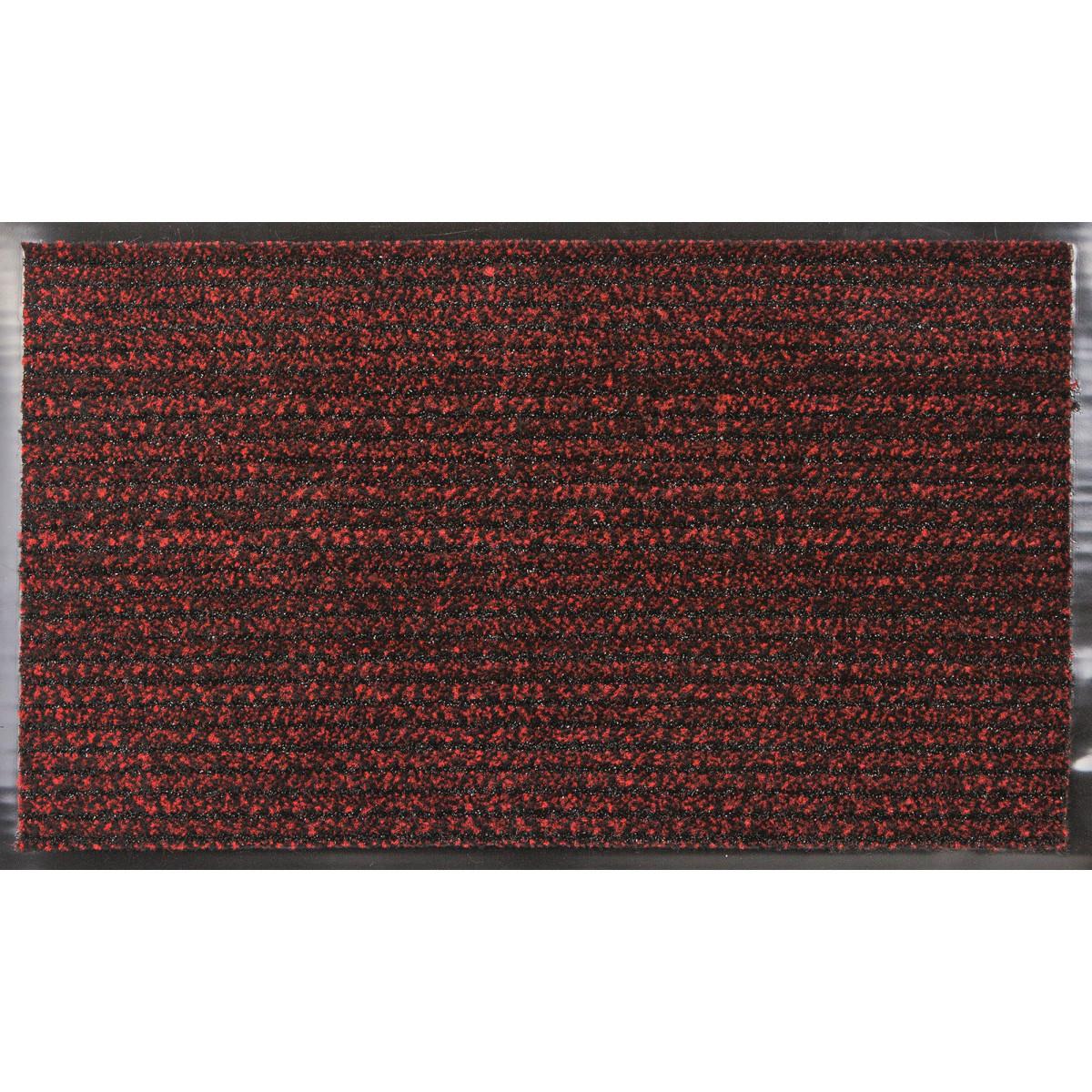 Коврик Fiesta 45x75 см полипропилен цвет красный
