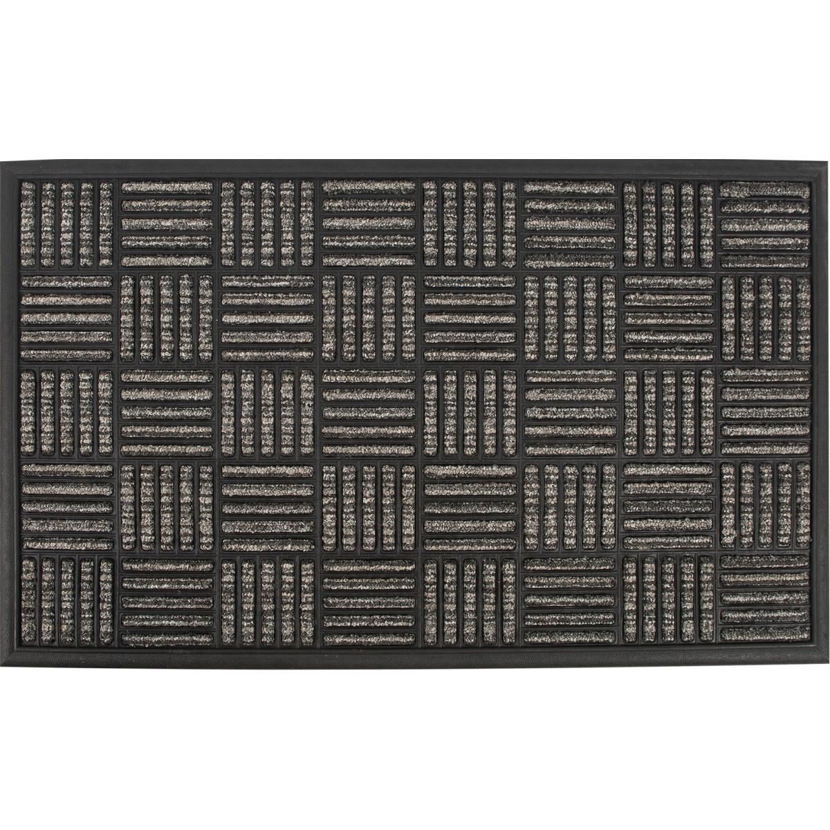 Коврик Porto Parquet 45x75 см цвет темно-серый