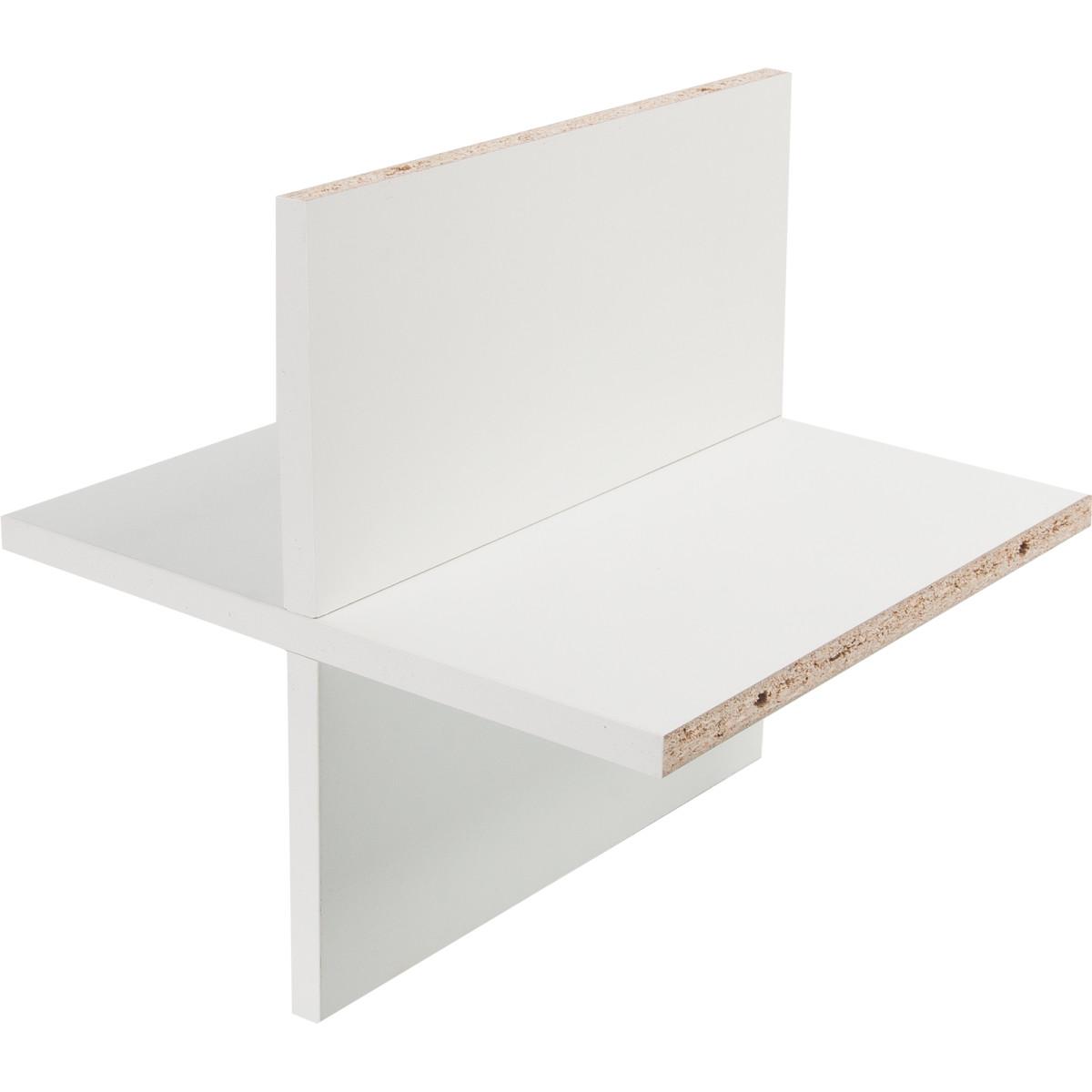 Вставка крестовая КУБ 33x31.5 см ДСП цвет белый