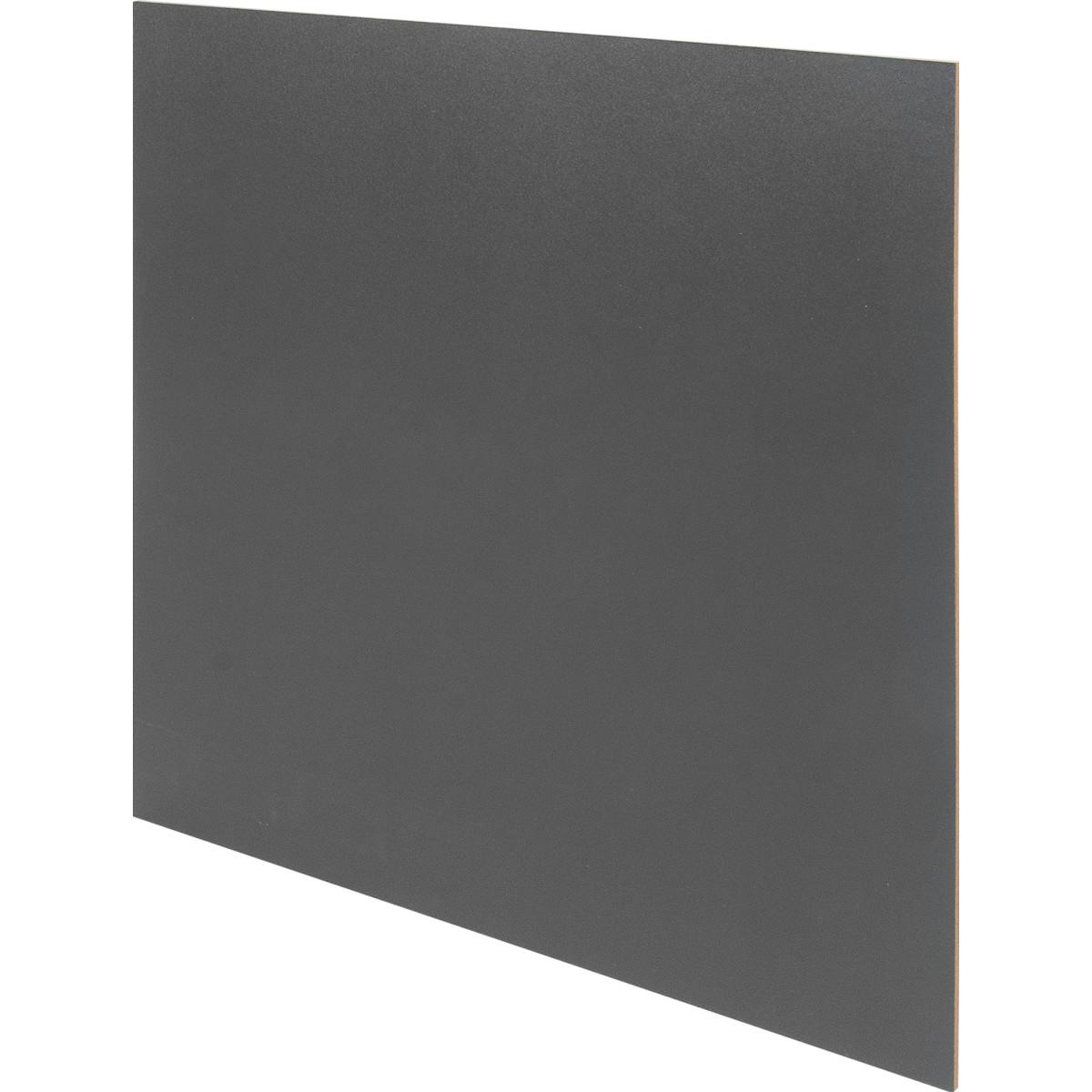 Задняя стенка КУБ 34.5x34.5 см цвет графит 4 шт