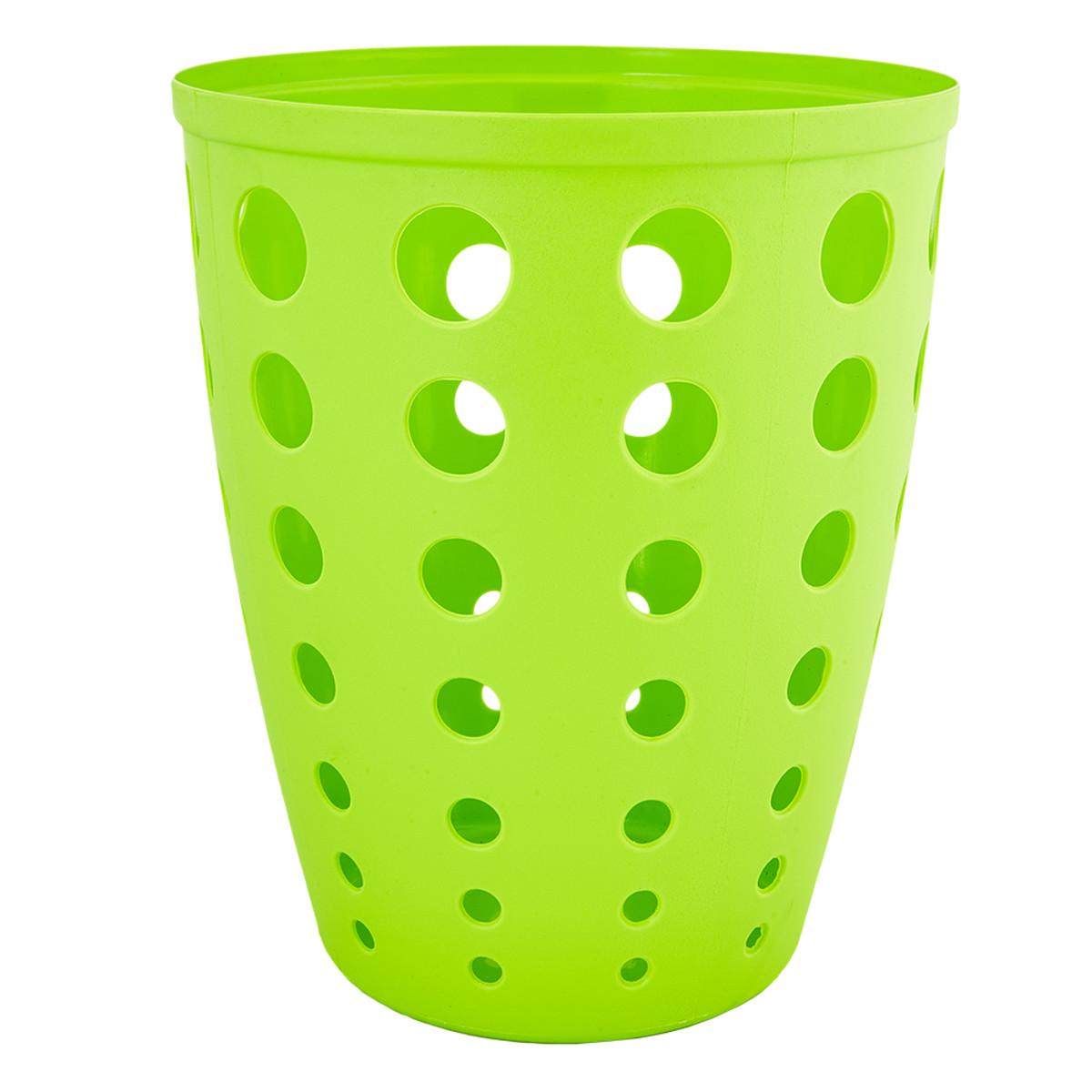 Контейнер для мусора Евро 13.5 л цвет зеленый